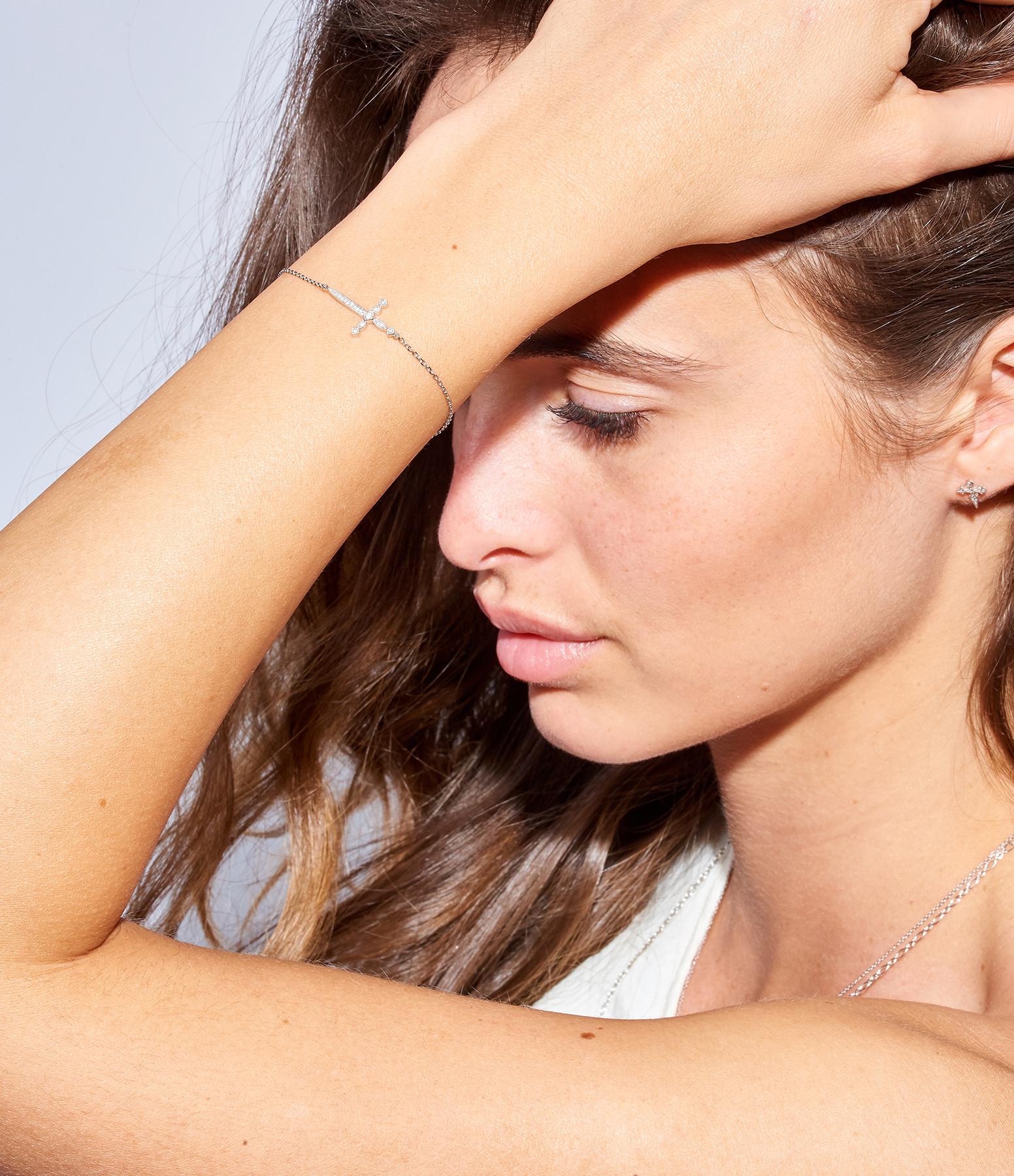 Bracelet Diabolique Or Diamants - STONE