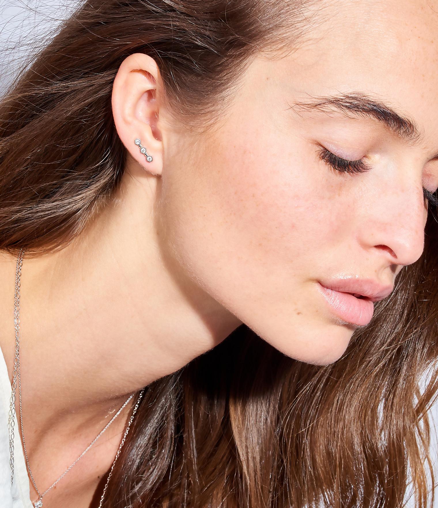 Boucle d'oreille Charmante Diamants (vendu à l'unité) - STONE
