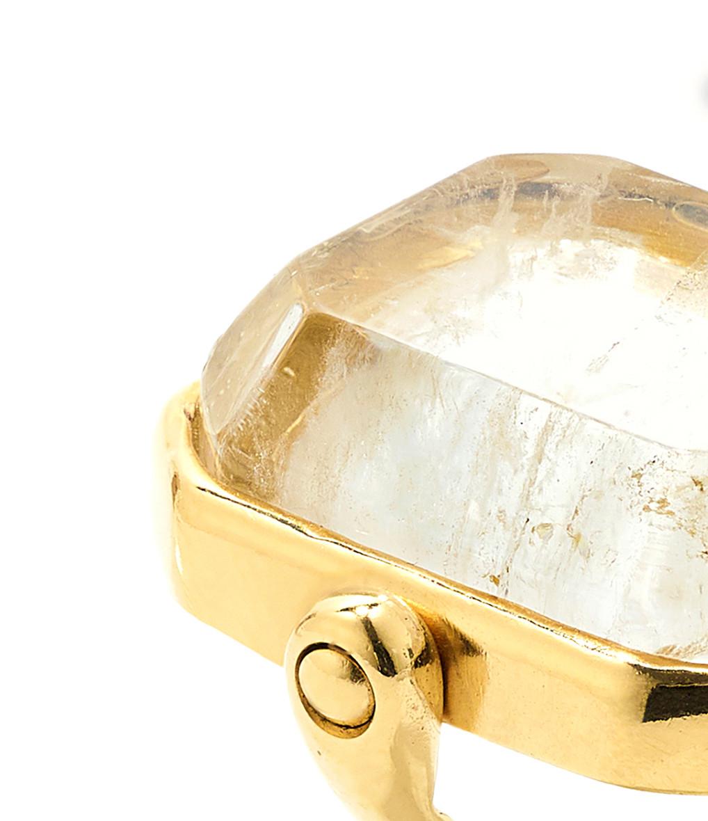 GOOSSENS - Bague Stones Cristal de Roche Naturel