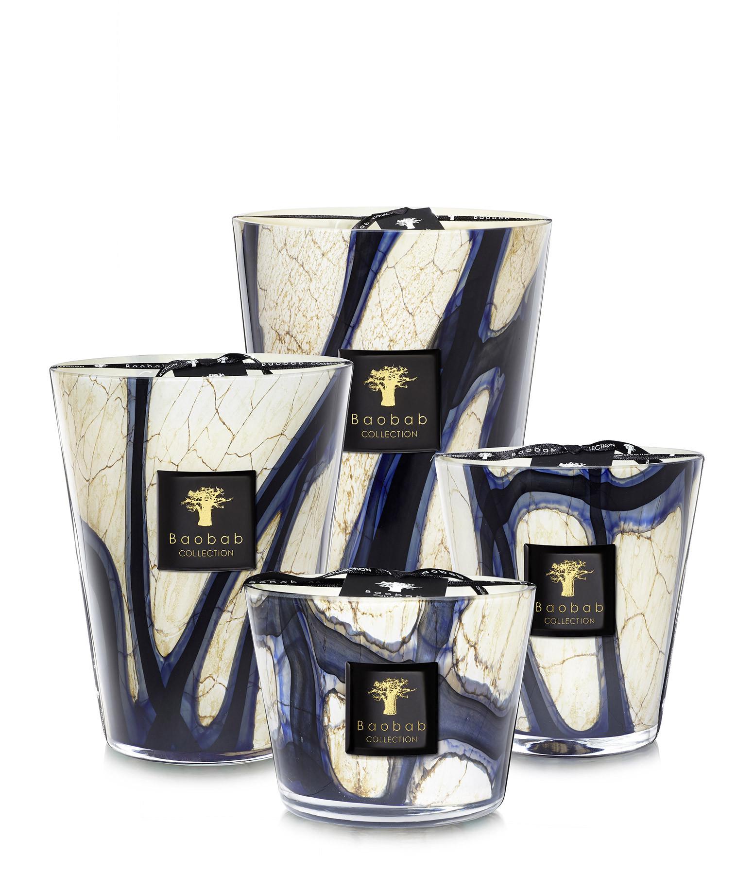 BAOBAB COLLECTION - Bougie Max 10 Stones Lazuli