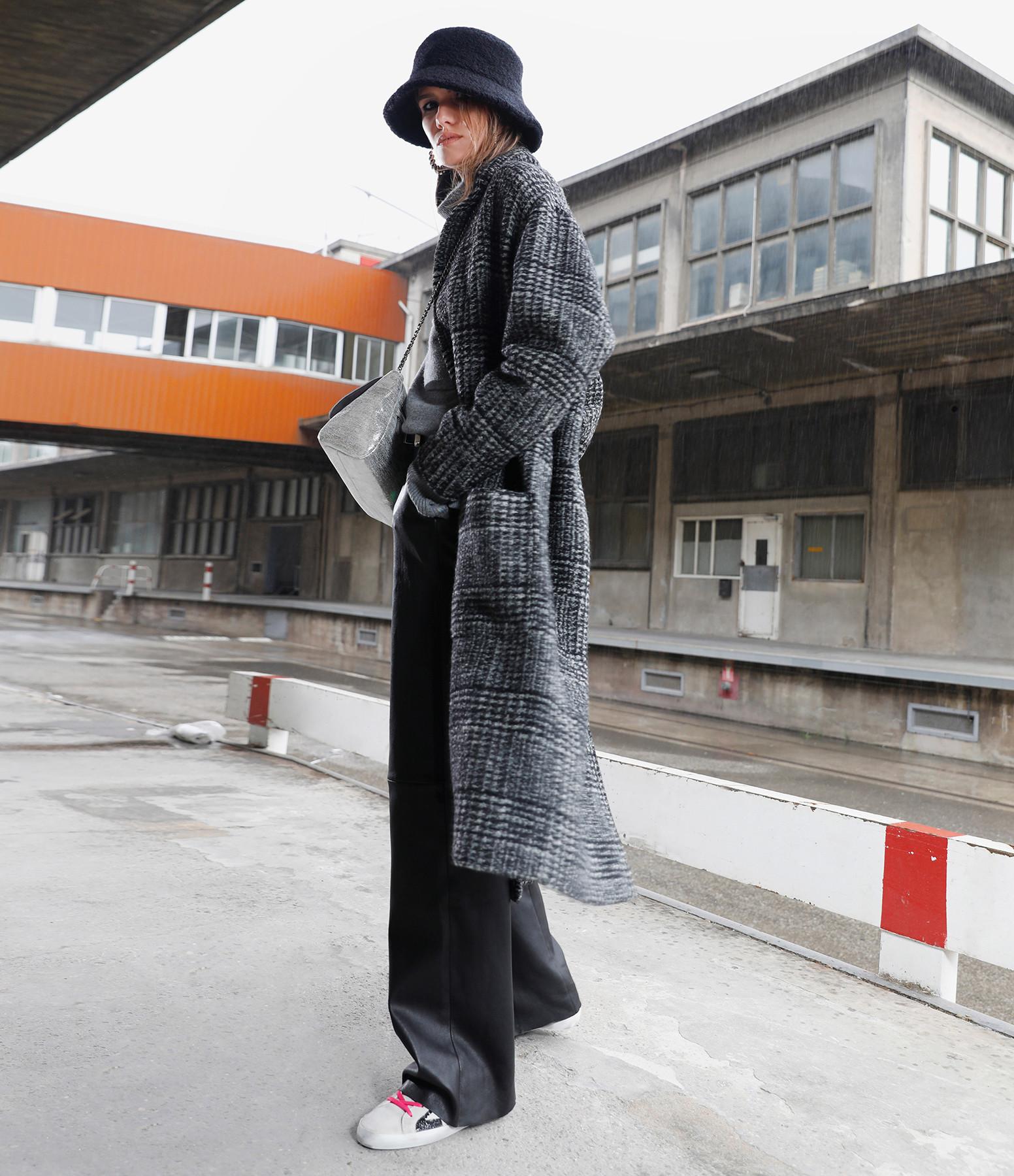 STOULS - Pantalon Oswald Agneau Plongé Light Noir