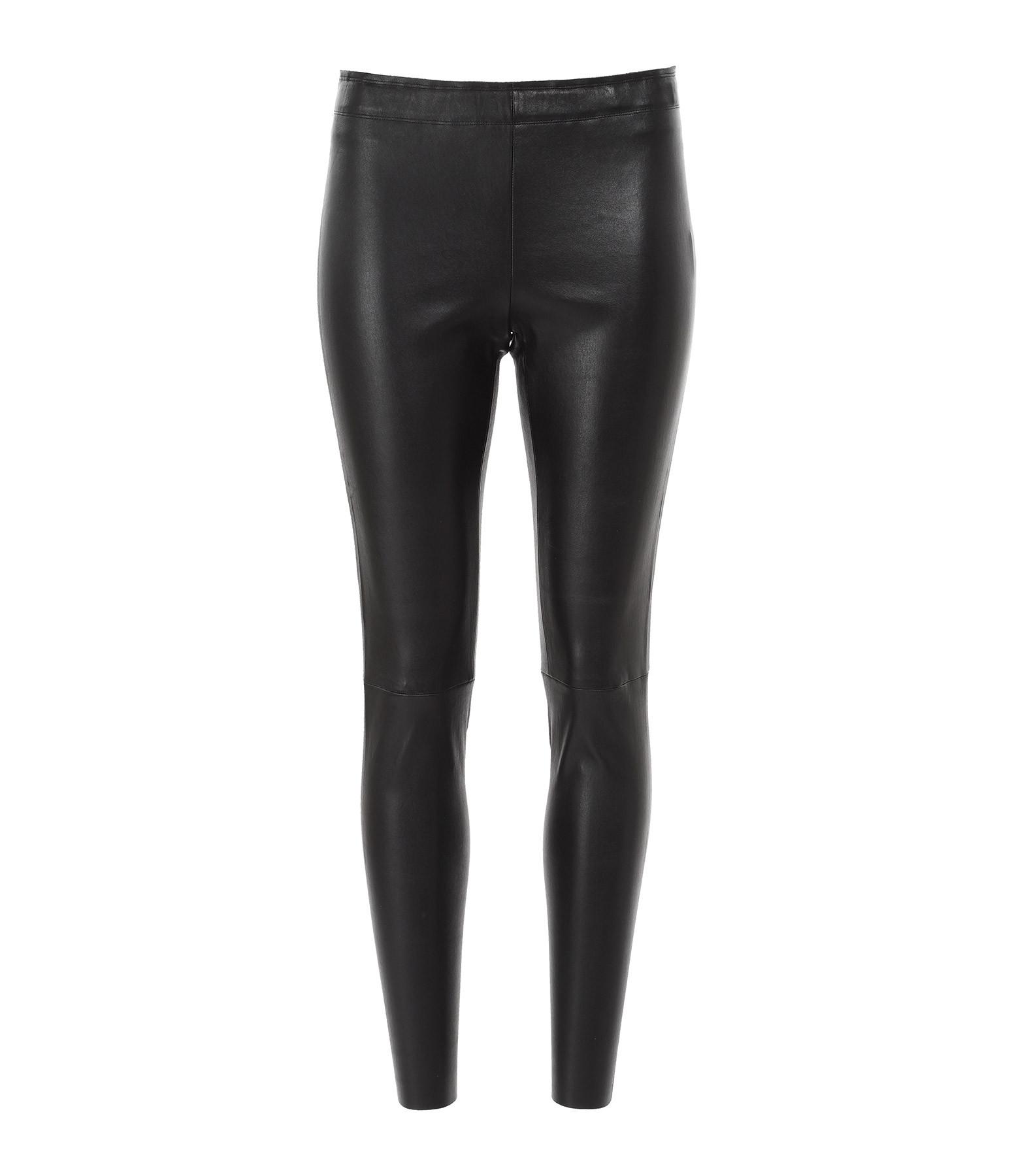 STOULS - Pantalon Carlson Agneau Plongé Regular Noir