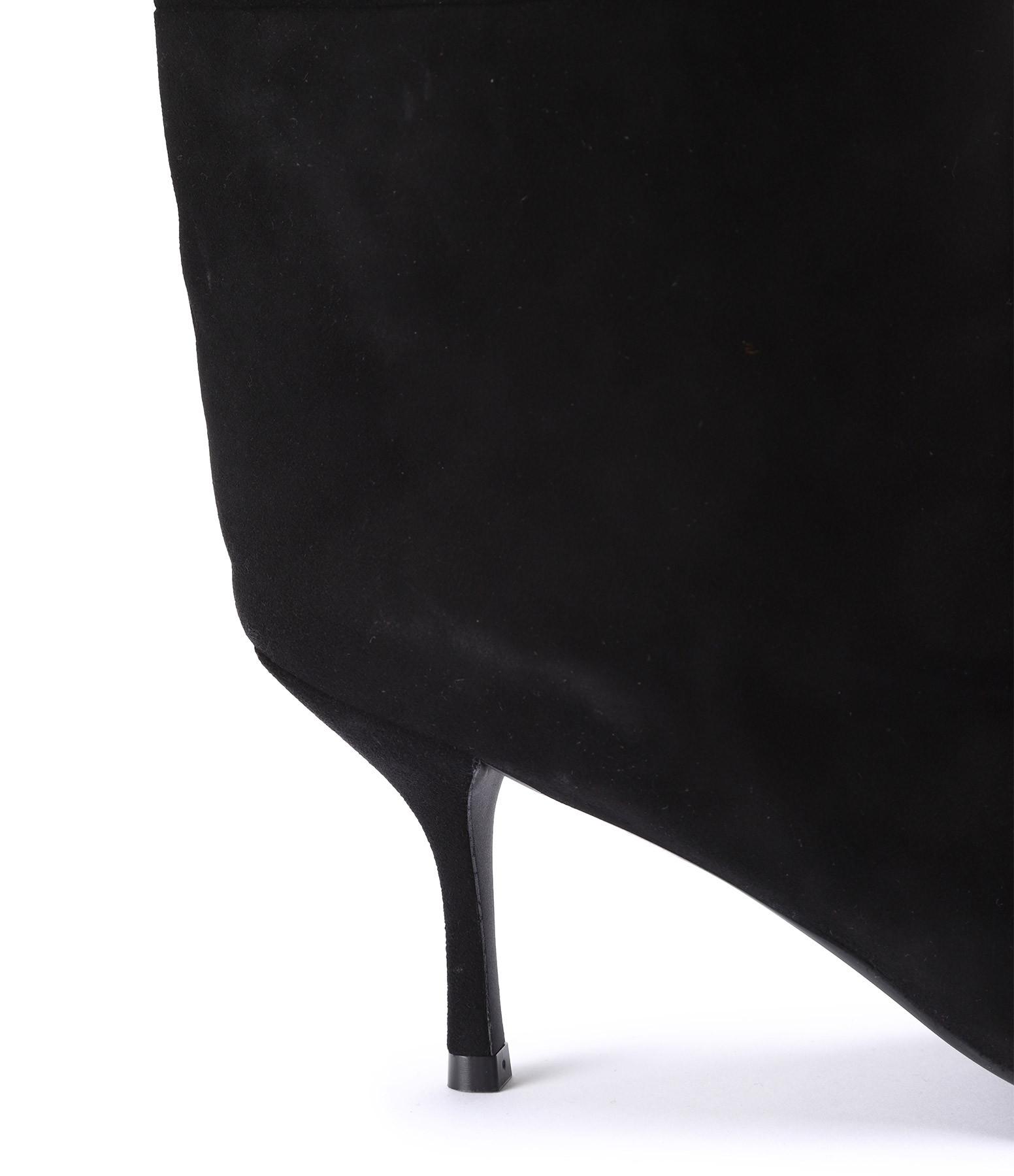 STUART WEITZMAN - Bottes Magda Cuir Suédé Noir