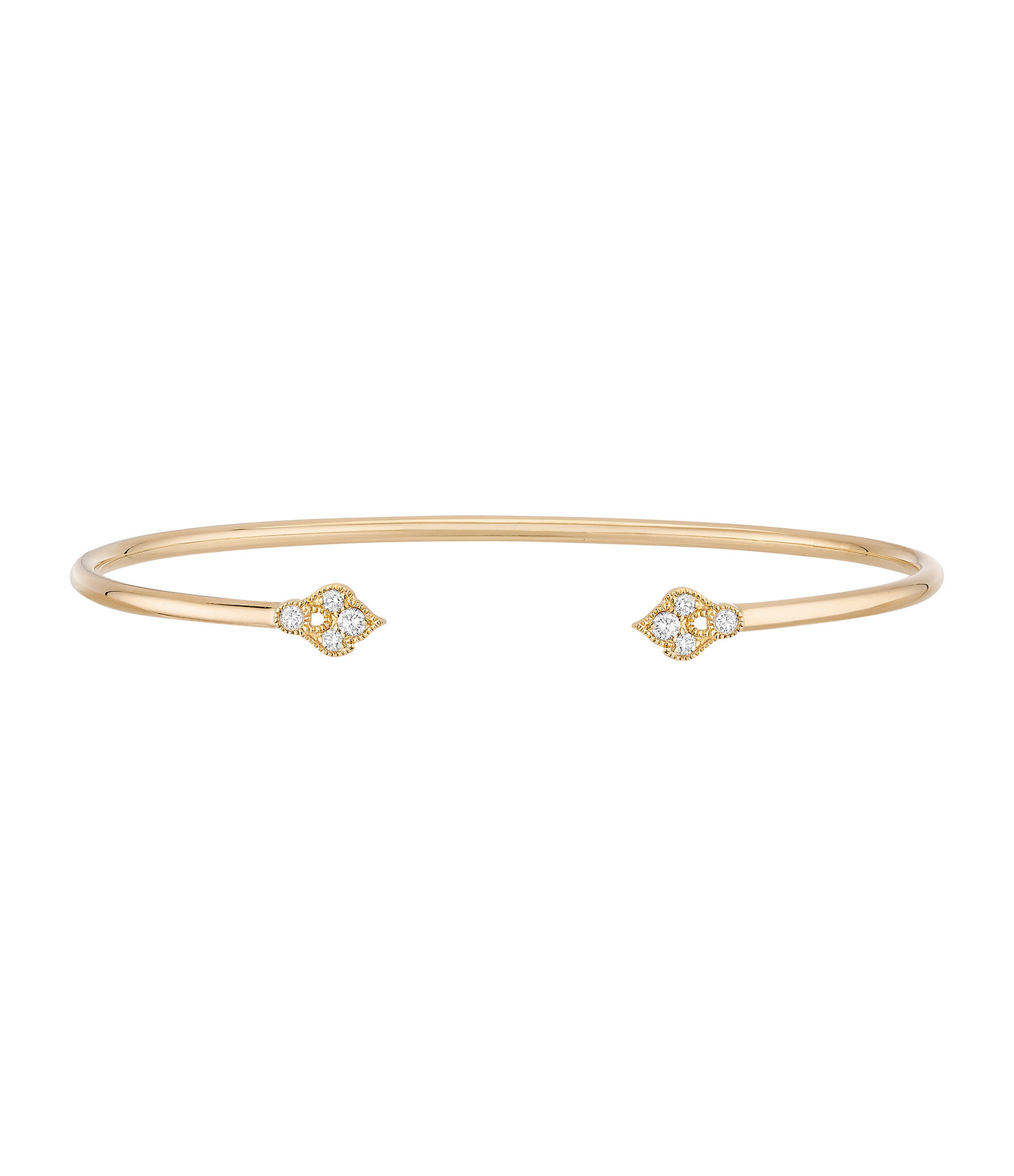 STONE PARIS - Jonc Flexible Sultane Or Diamants