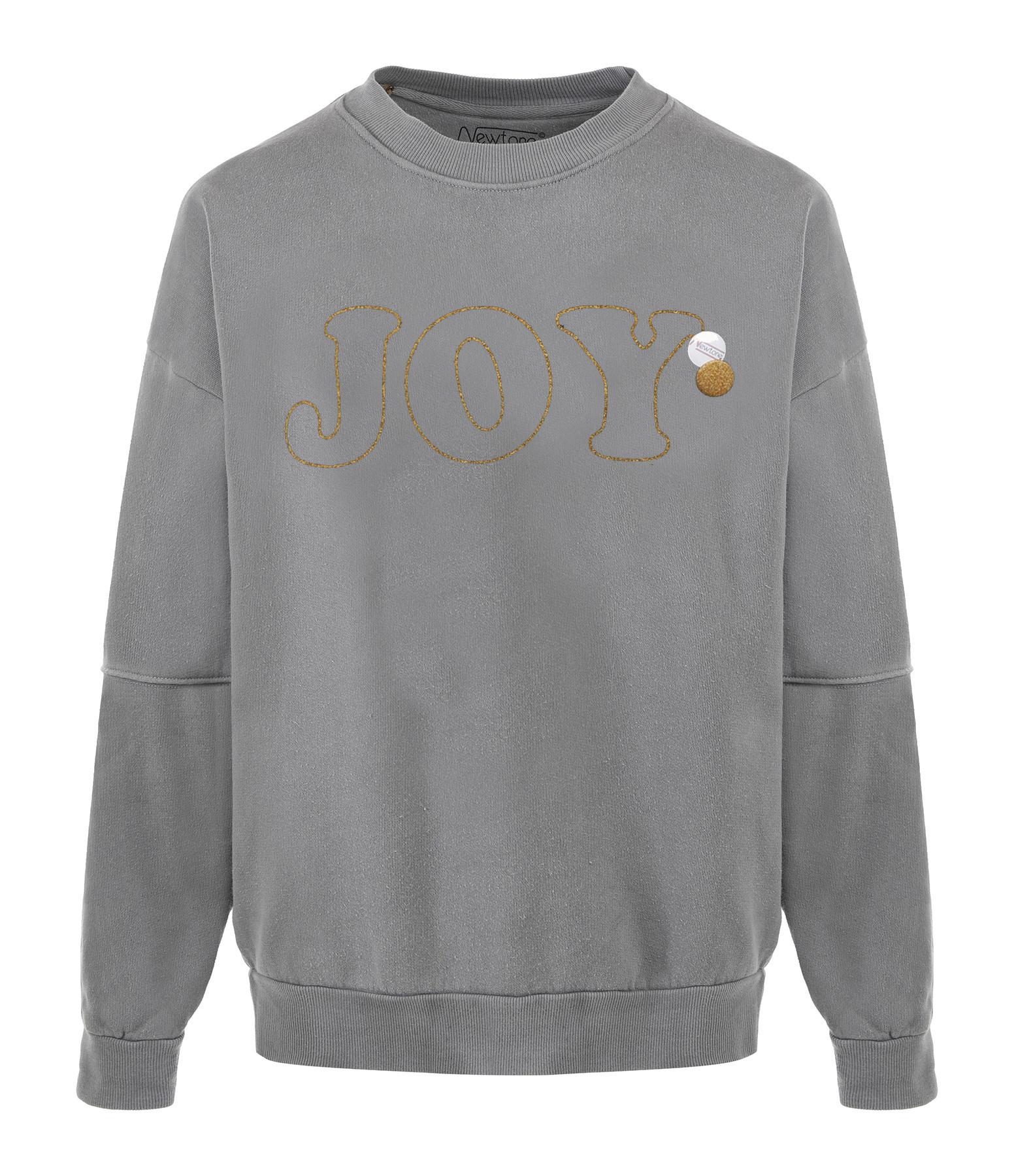 NEWTONE - Sweatshirt Roller Joy Coton Gris