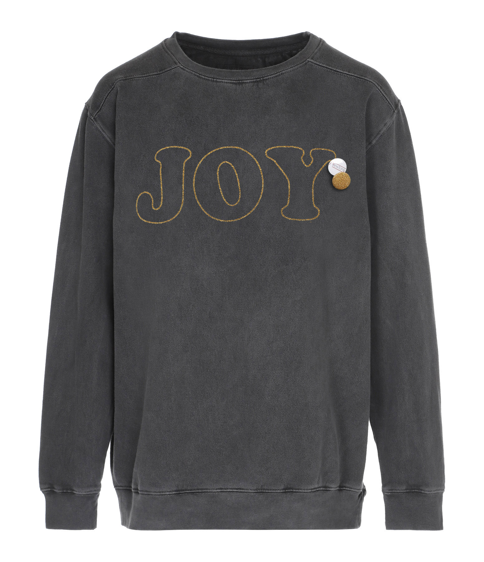 NEWTONE - Sweatshirt Roller Joy Coton Pepper Glitter