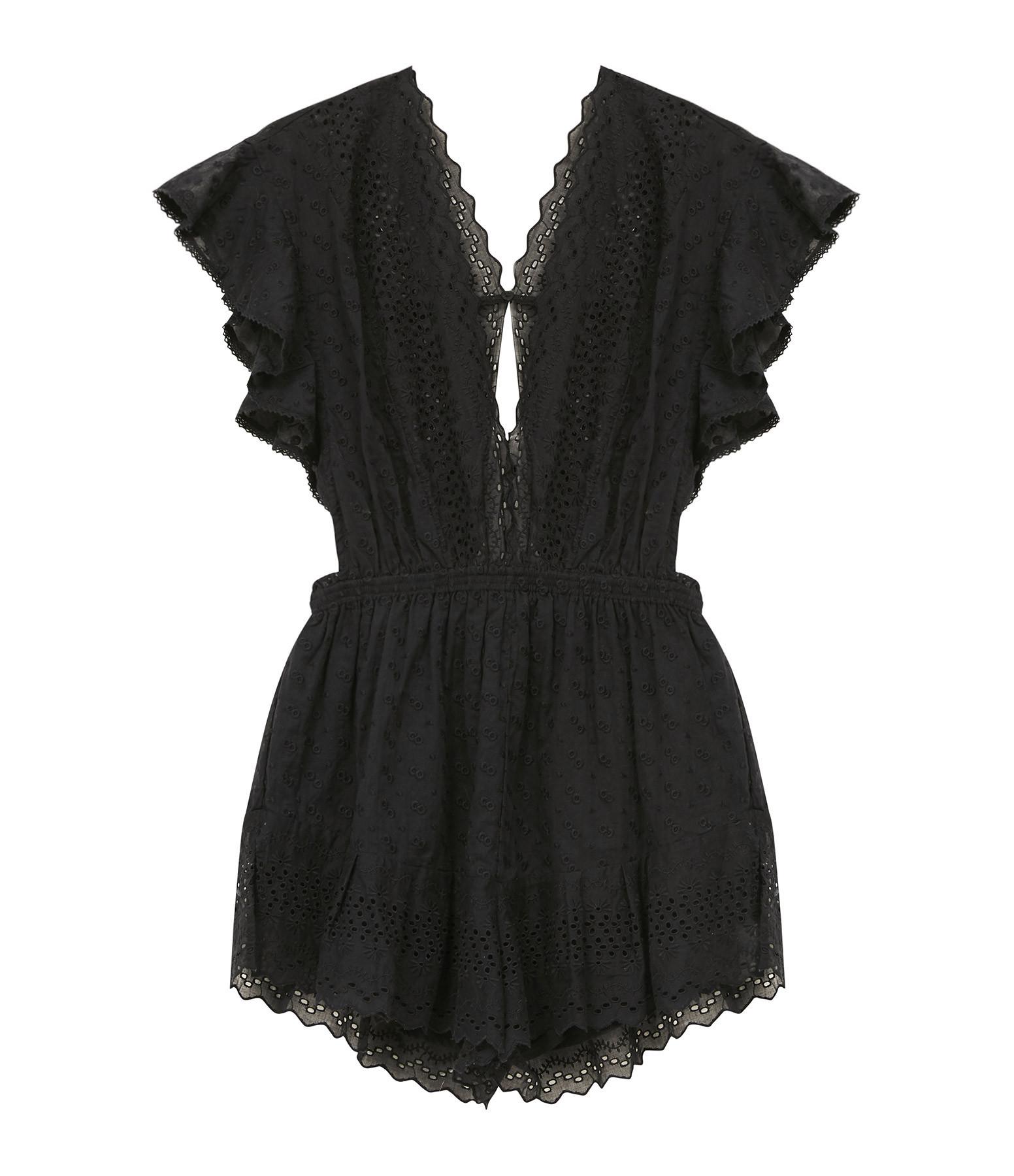 ISABEL MARANT ÉTOILE - Combinaison Tadeo Coton Noir