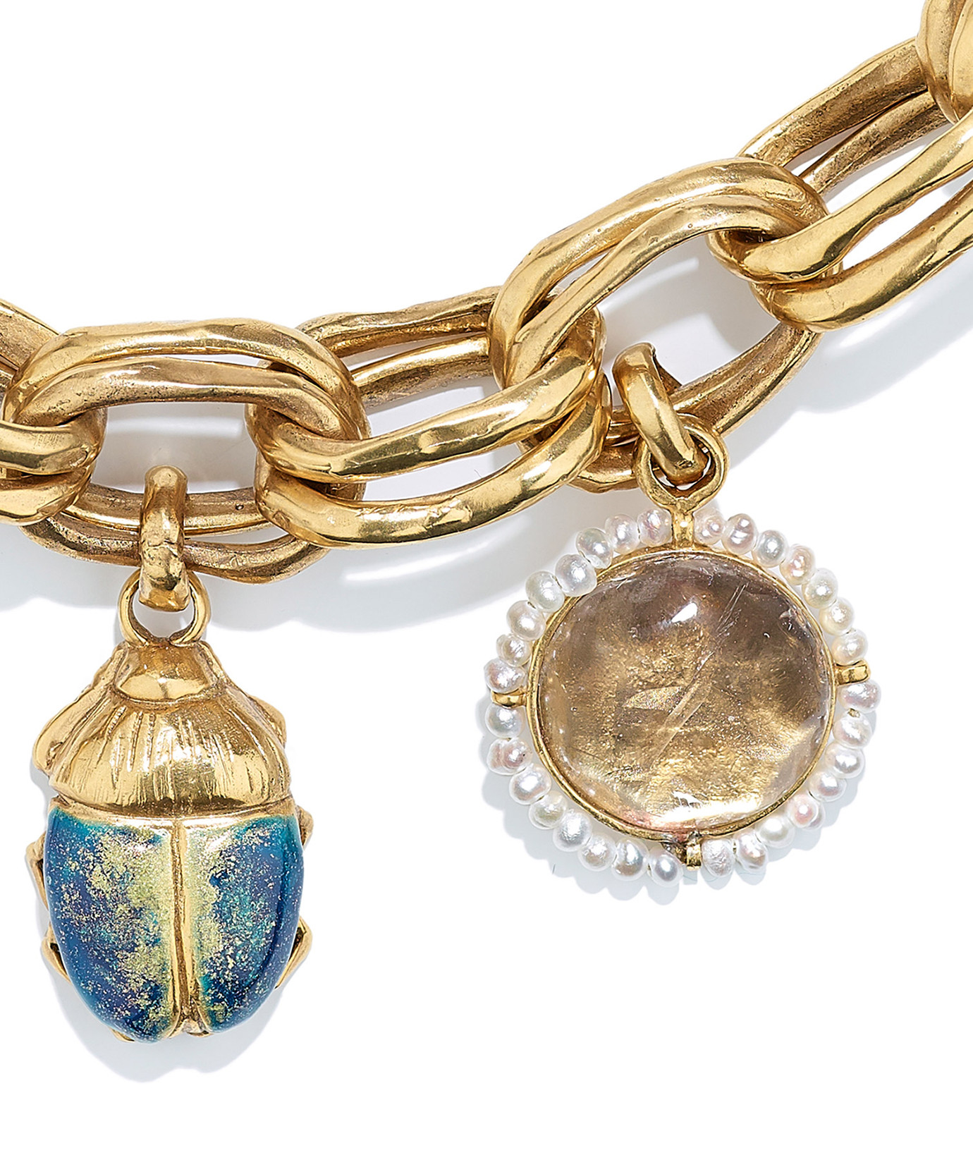 GOOSSENS - Bracelet Talisman Cristal de Roche Naturel