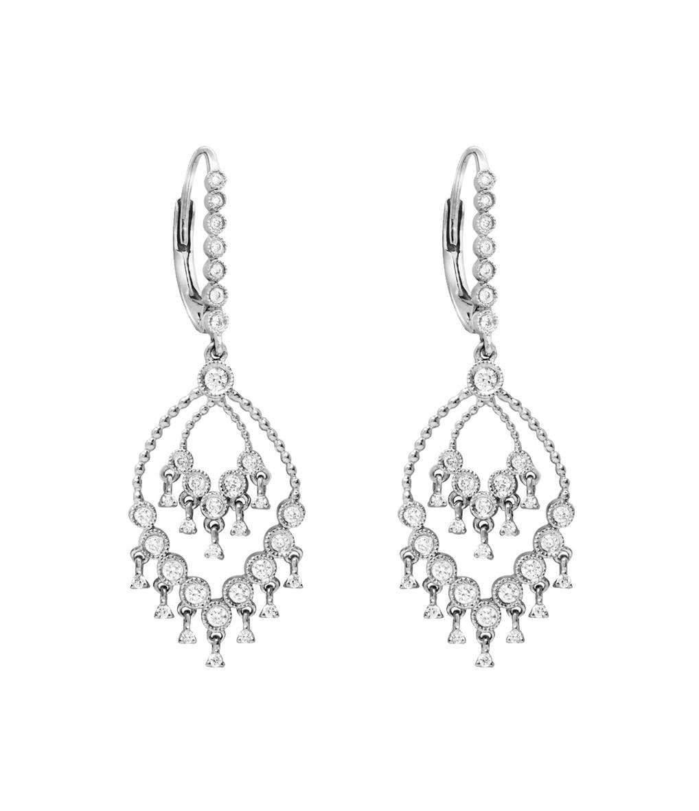 Boucles d'oreilles Talitha Dormeuses Diamants - STONE
