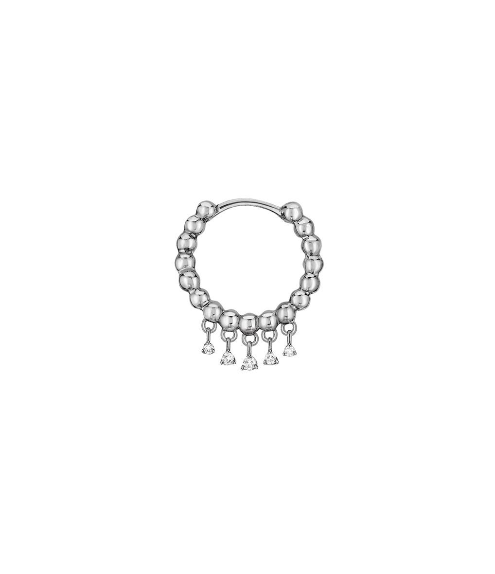 STONE PARIS - Mini Créole Talitha Or Diamants (vendue à l'unité)