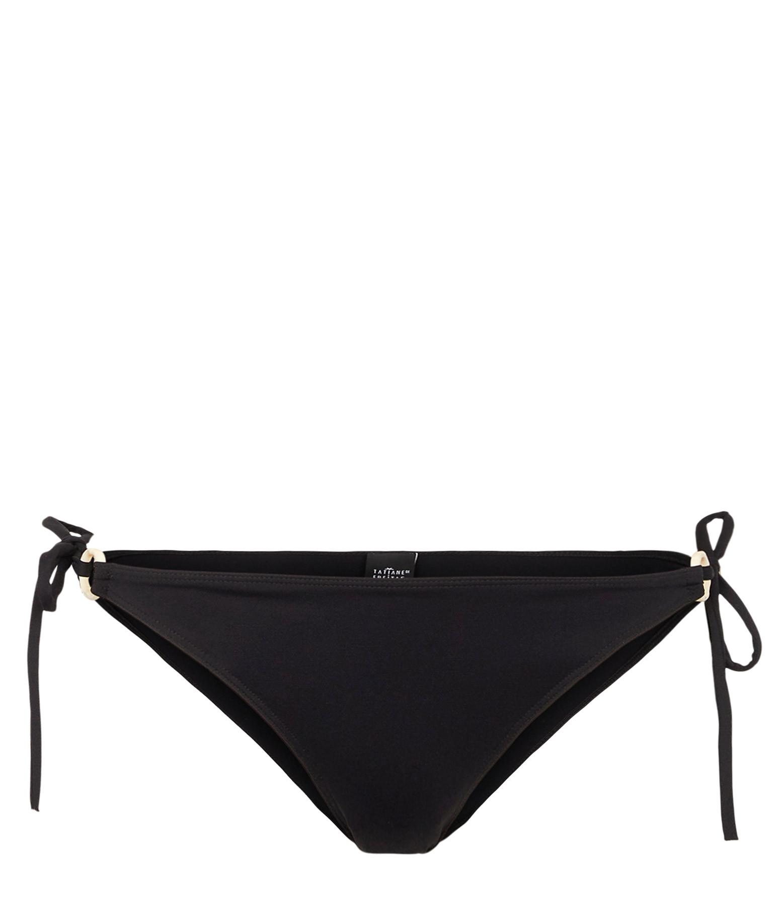 TATIANE DE FREITAS - Culotte de Bain Escale Noir