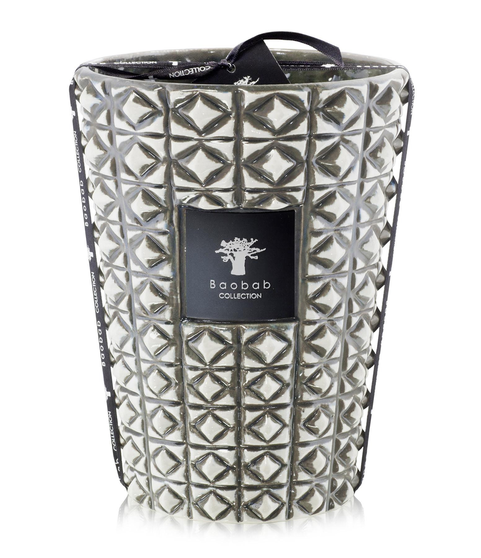 BAOBAB COLLECTION - Bougie Max 24 Modernista Ceramica Terra Negra
