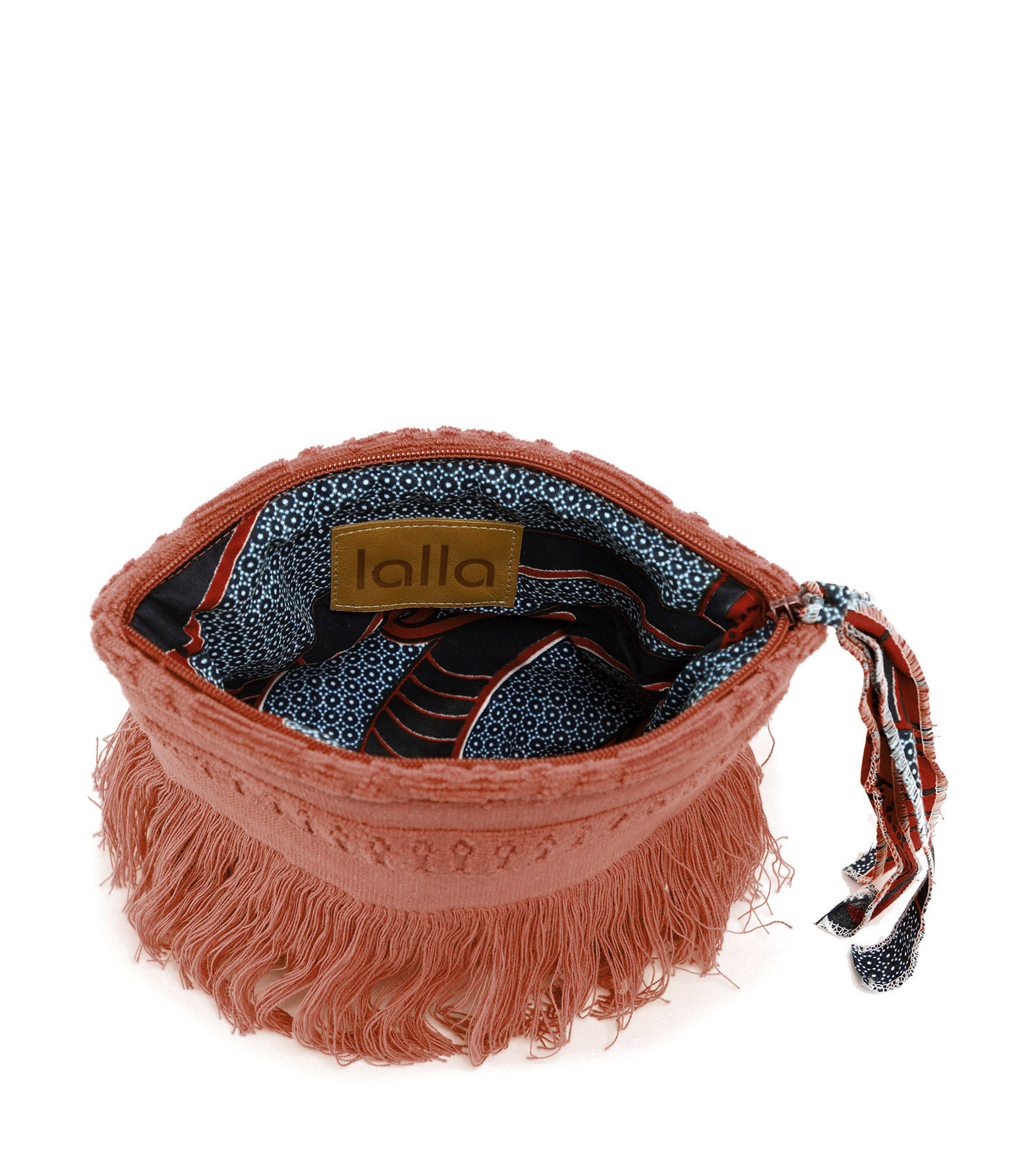 LALLA - Petite Trousse Walakin Hippie Éponge Terracotta