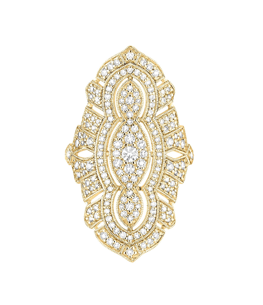STONE PARIS - Bague Tess Or Diamants
