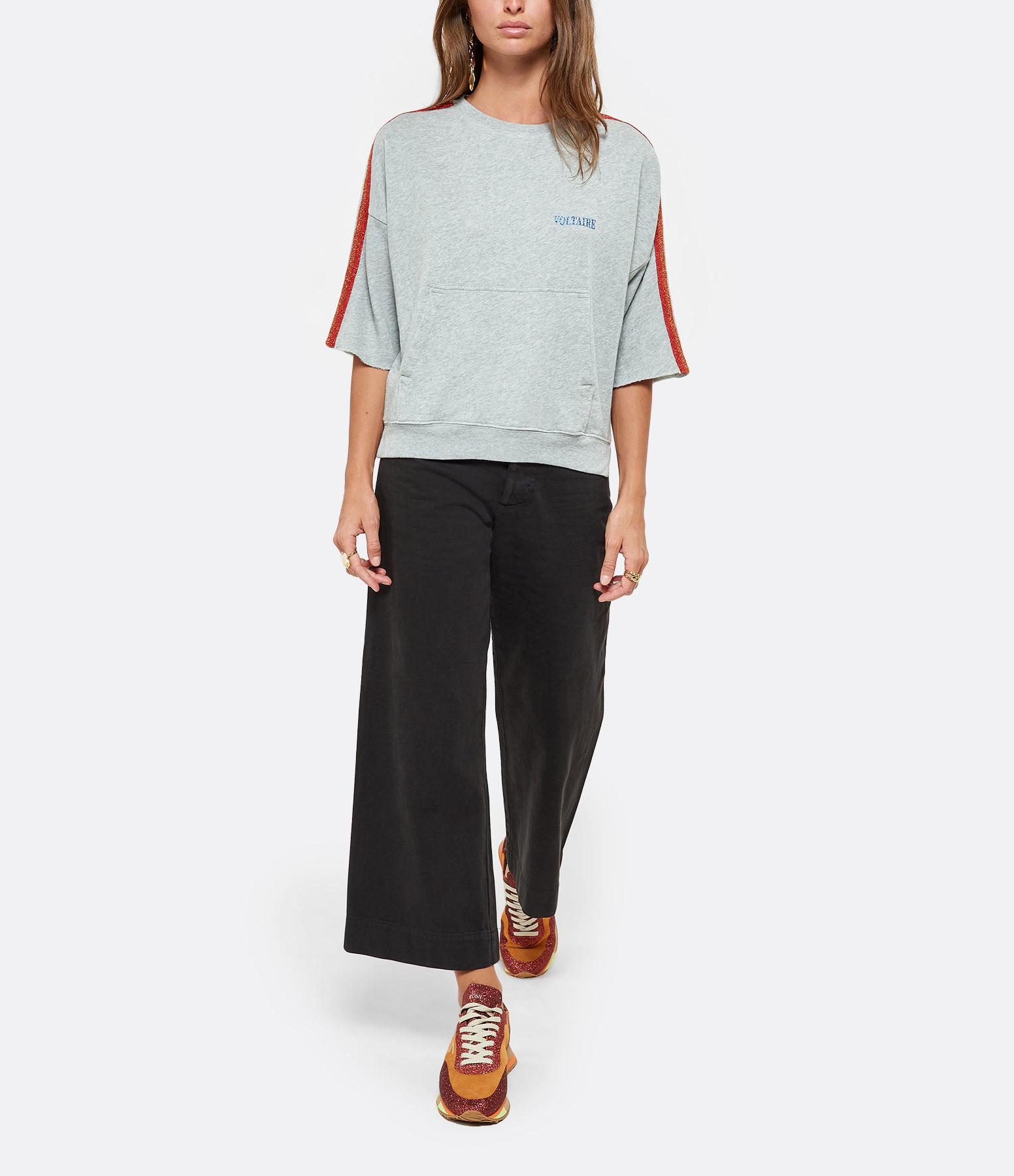 THE GREAT - Pantalon The Seafarer Coton Noir