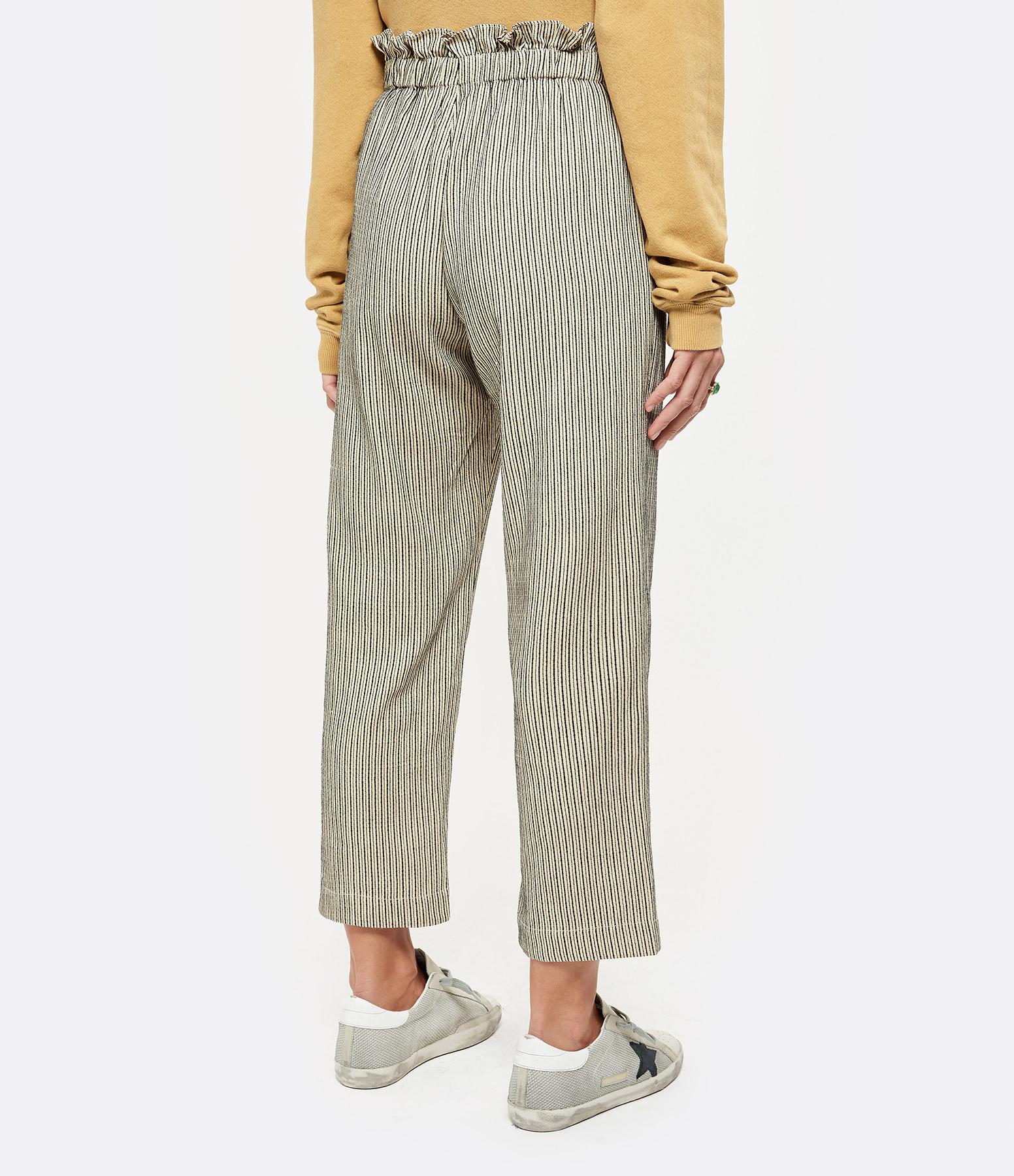 THE GREAT - Pantalon The Zip Gunny Lin Rayures