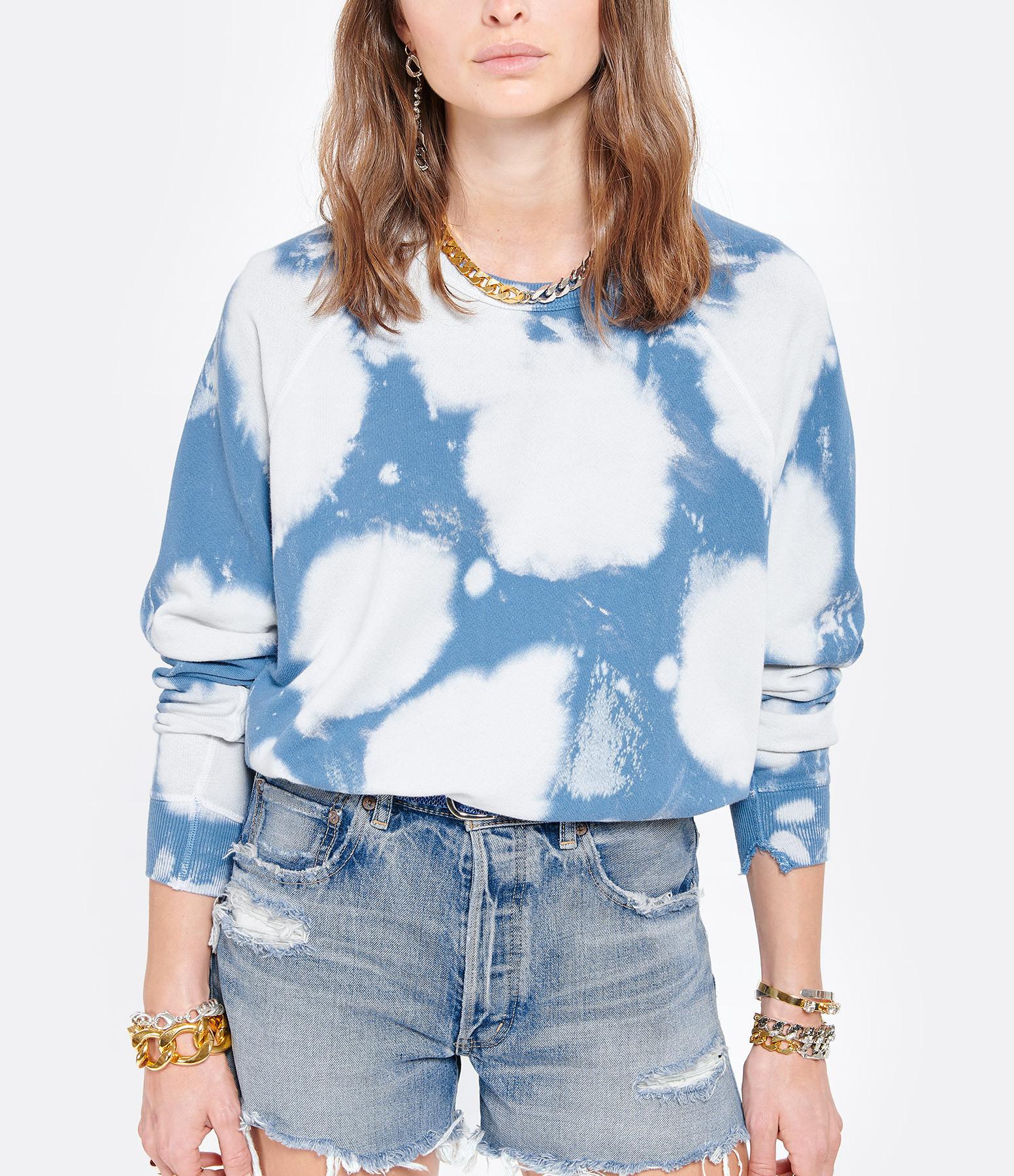 THE GREAT - Sweatshirt The College Coton Imprimé Nuage