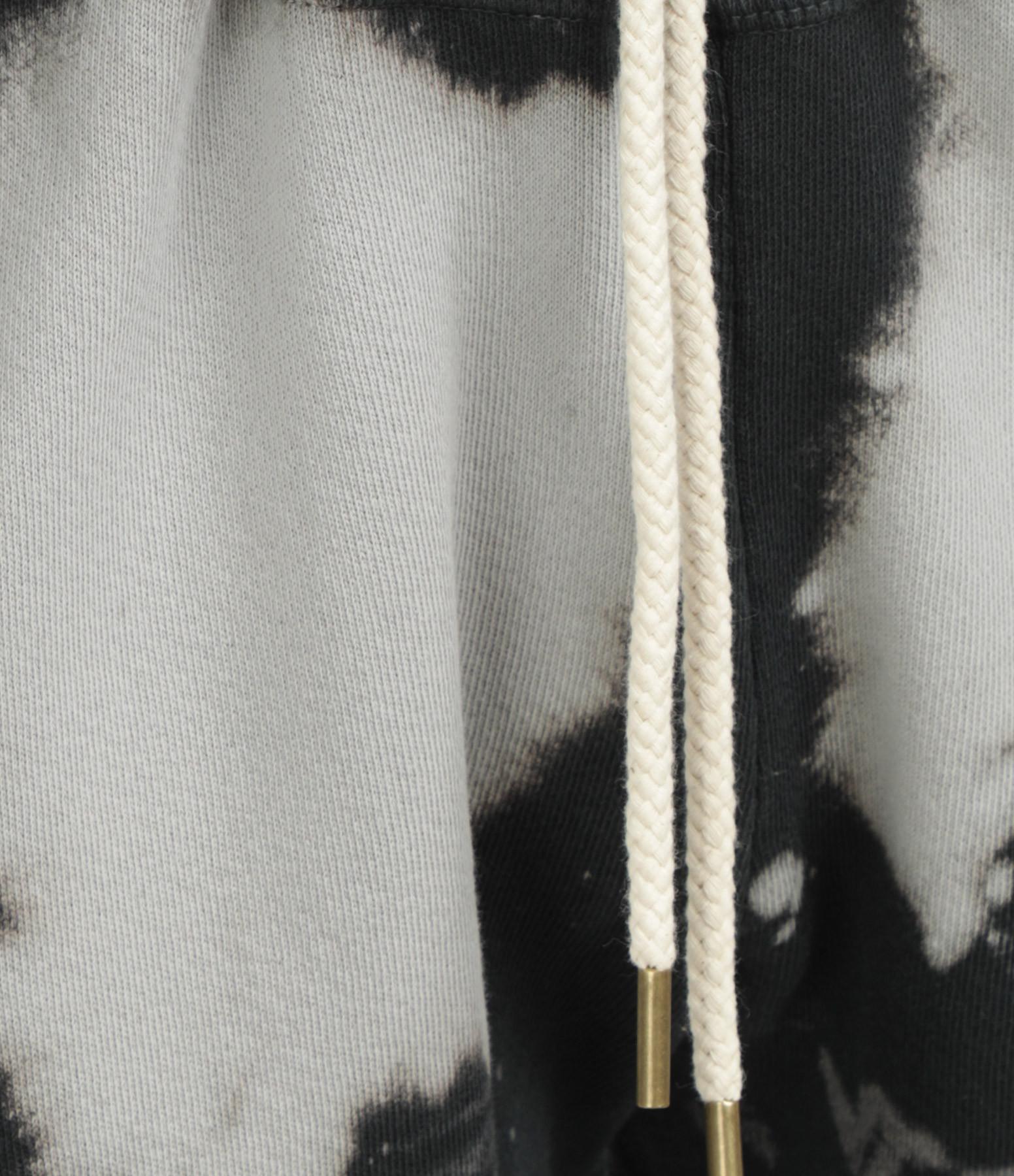 THE GREAT - Jogging The Croppped Coton Noir Délavé