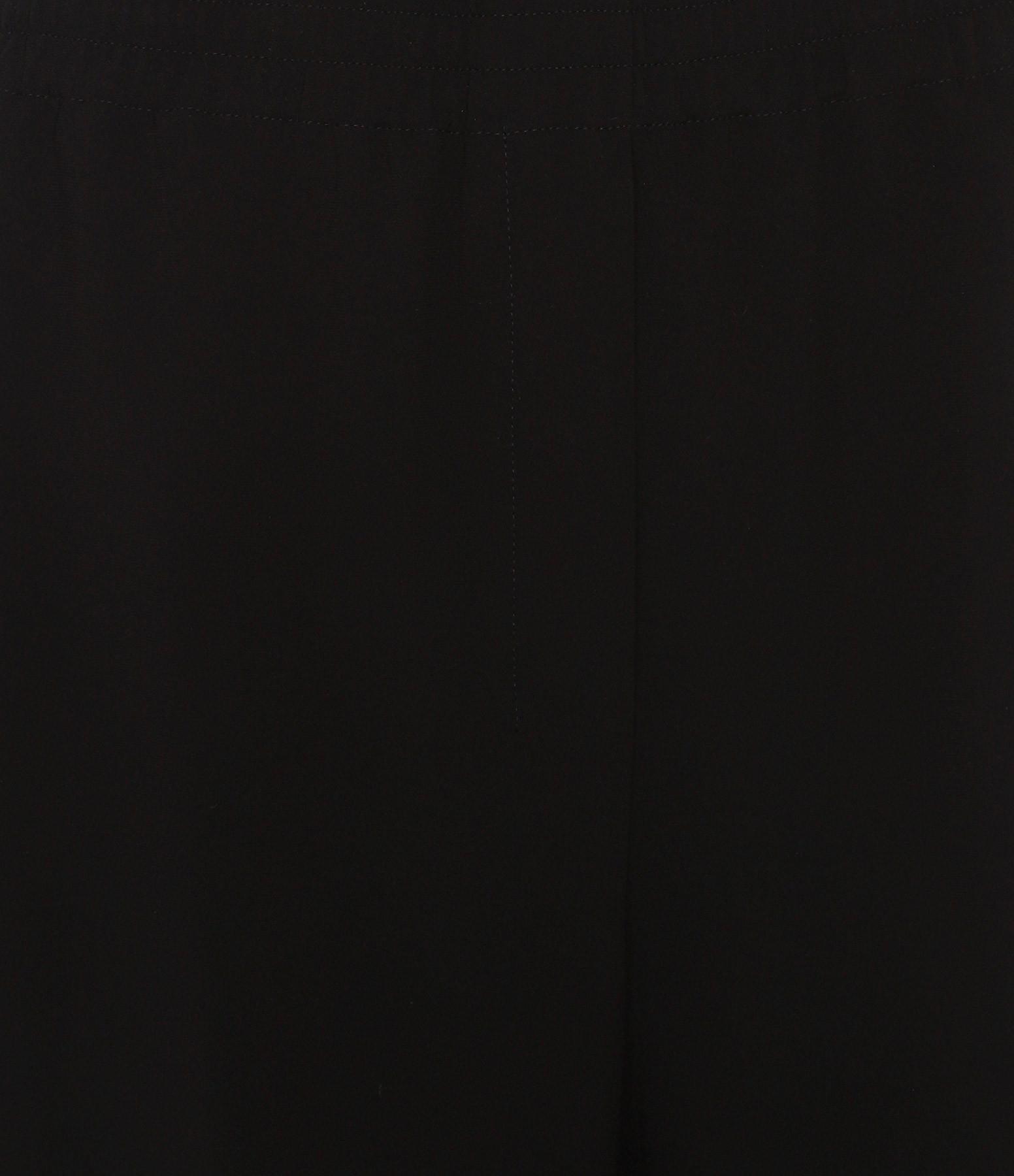THEORY - Pantalon Elastique Crèpe Noir