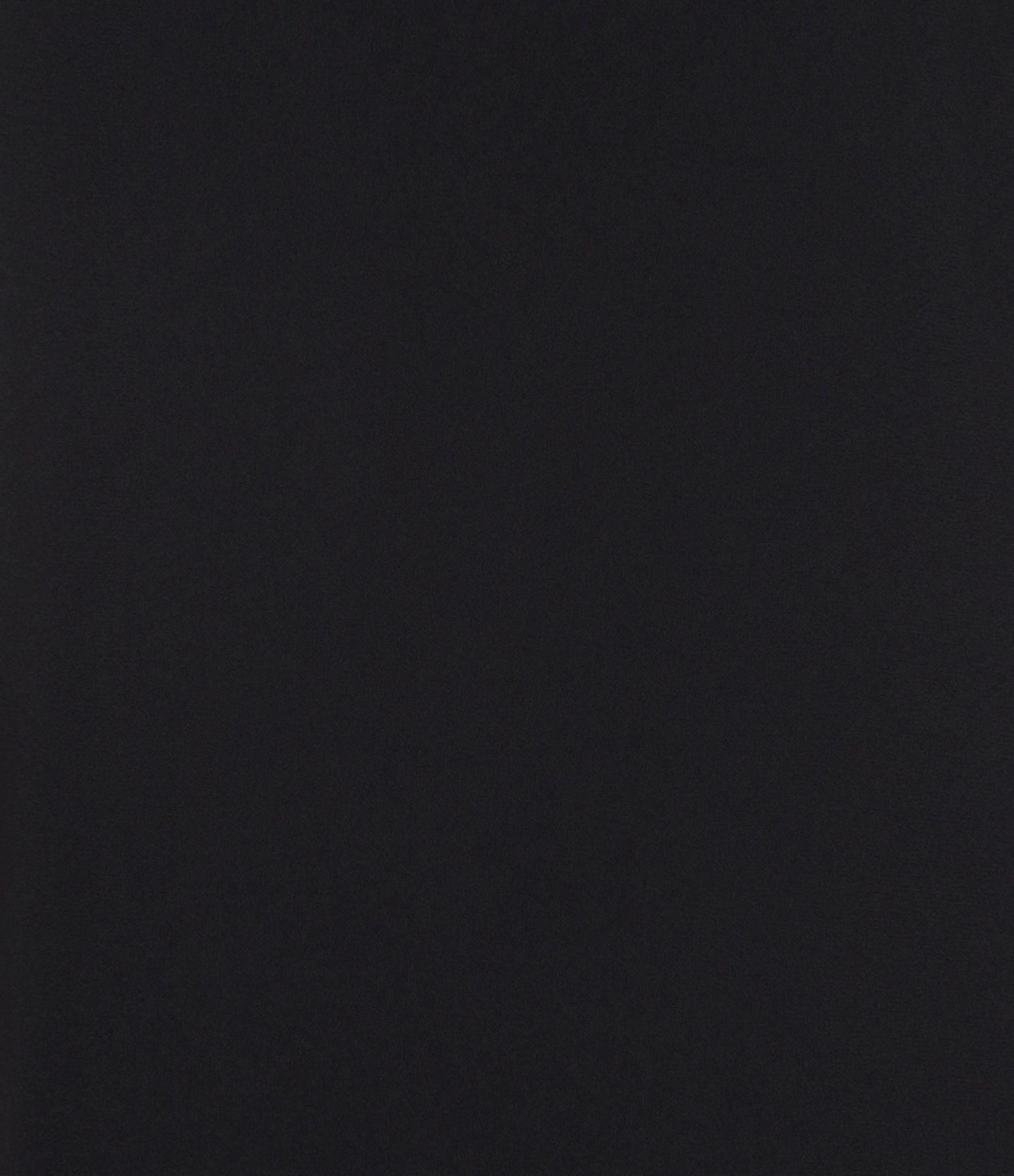 THEORY - Combinaison Pantalon Crèpe Noir