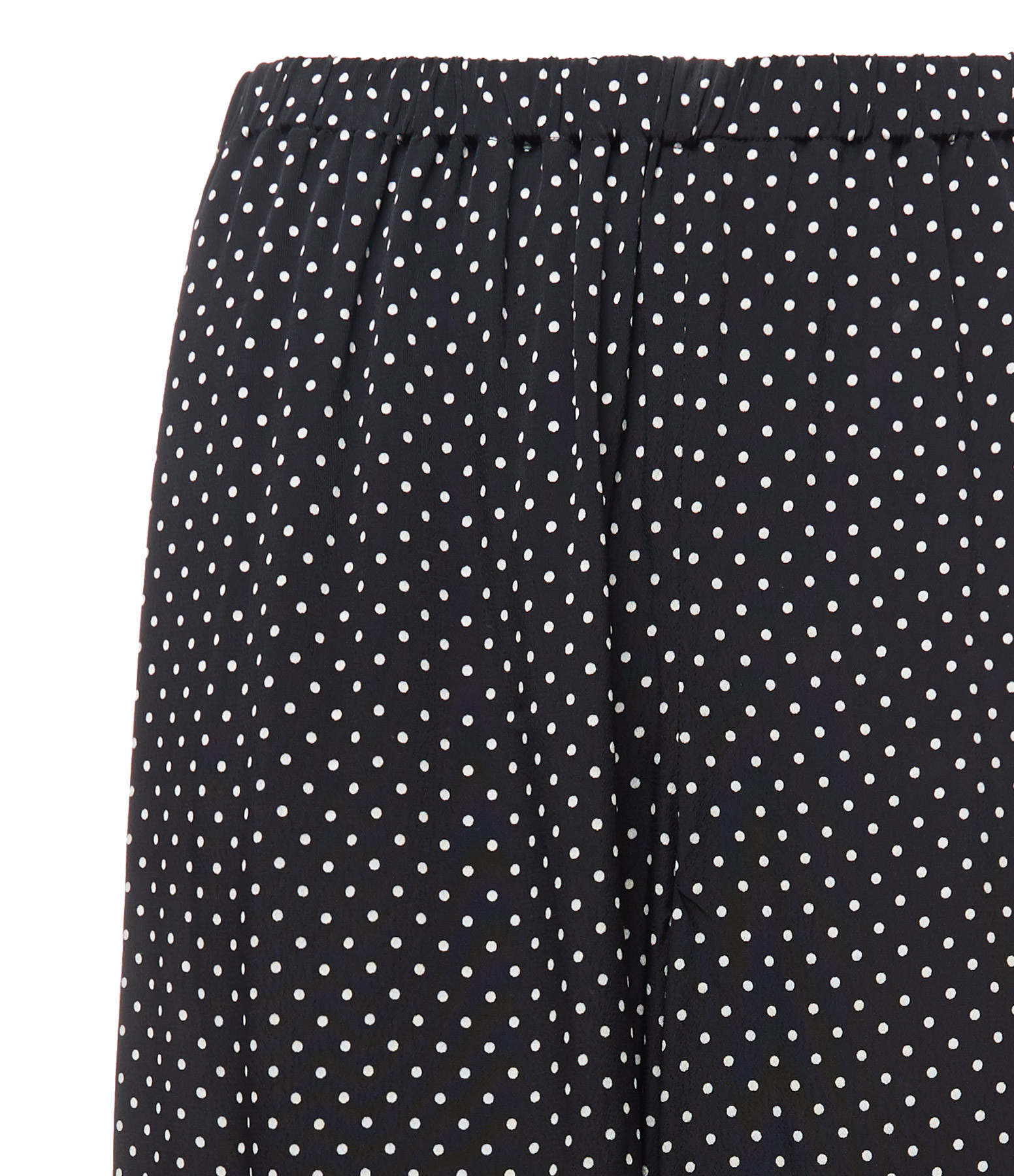 THEORY - Pantalon Fluide Pois Noir