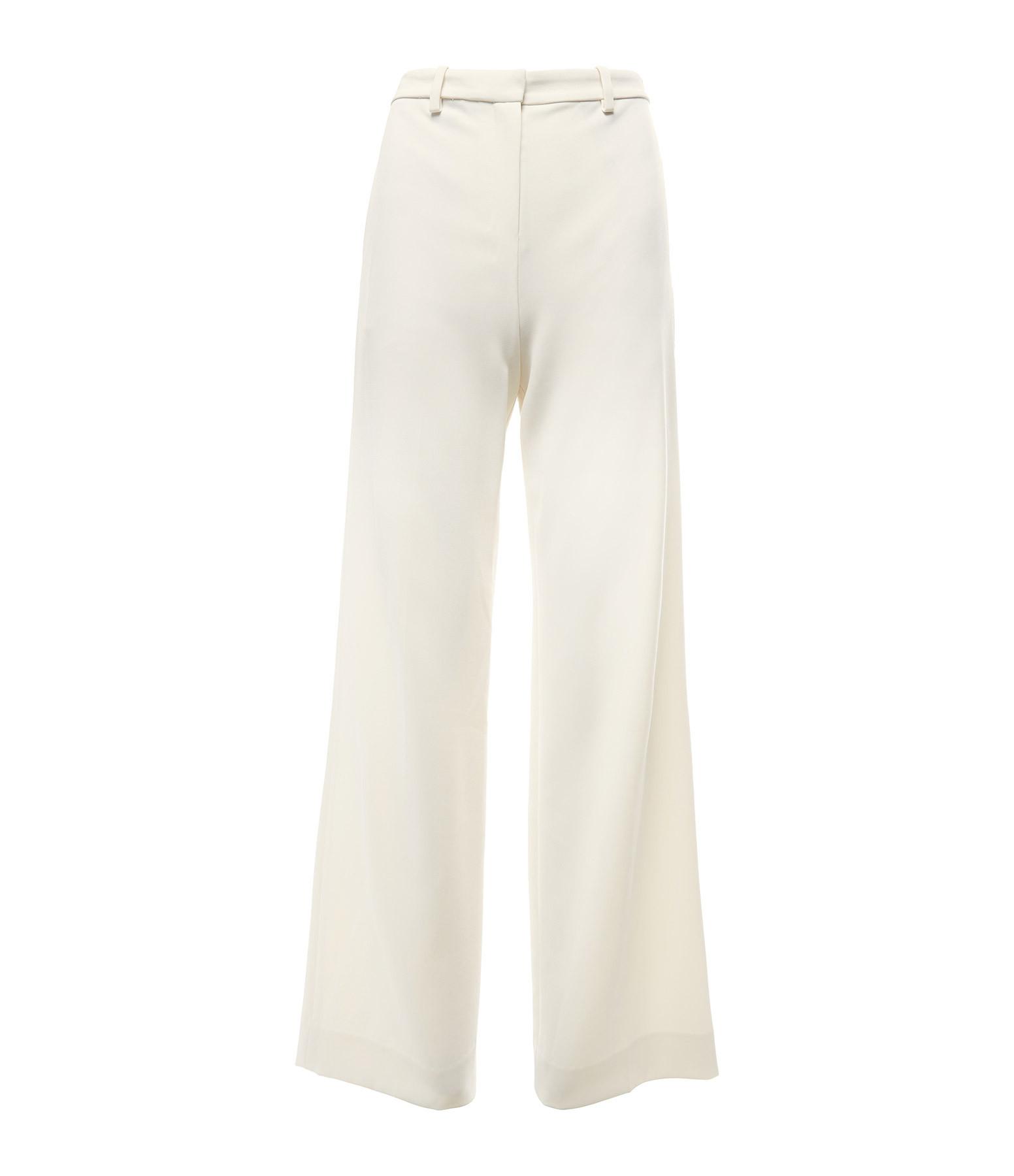 THEORY - Pantalon Crèpe Beige