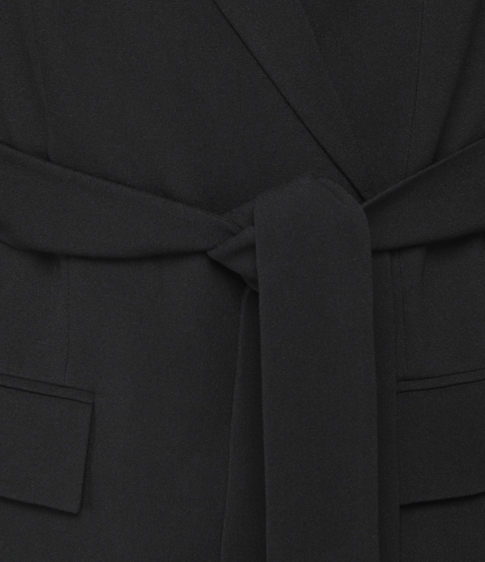 THEORY - Veste Blazer Ceinturé Noir