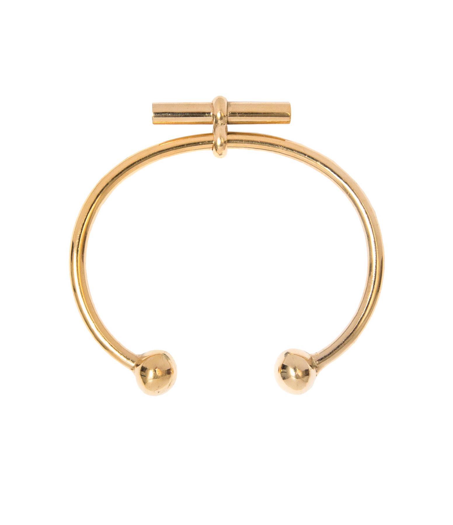 TILLY SVEAAS - Bracelet T-Bar Plaqué Or