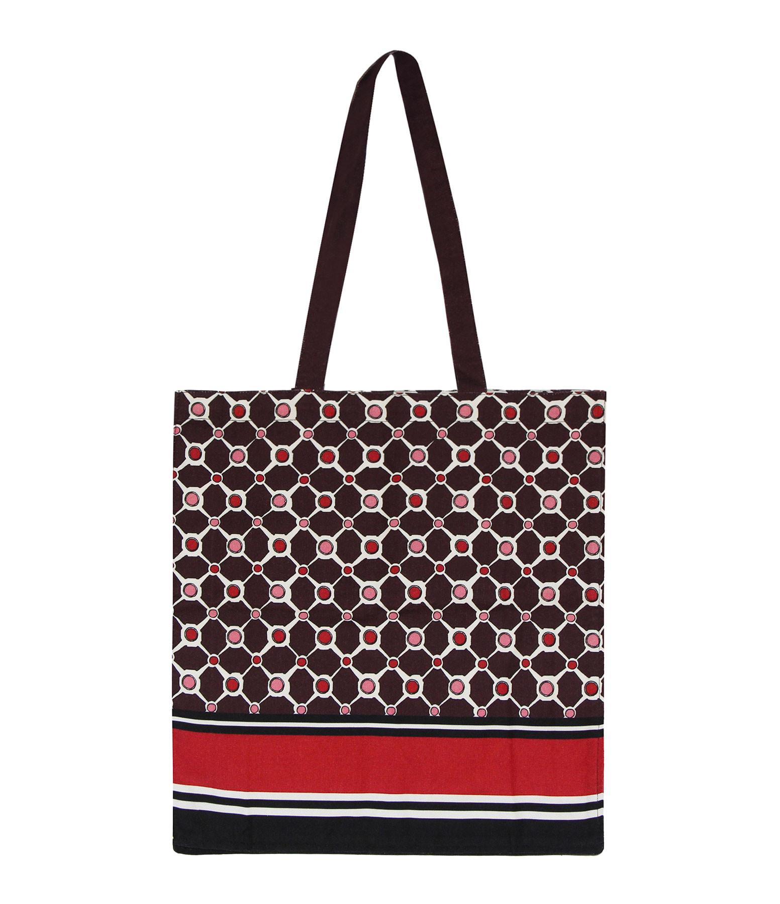 MAISON SARAH LAVOINE - Tote Bag Tuileries Aubergine