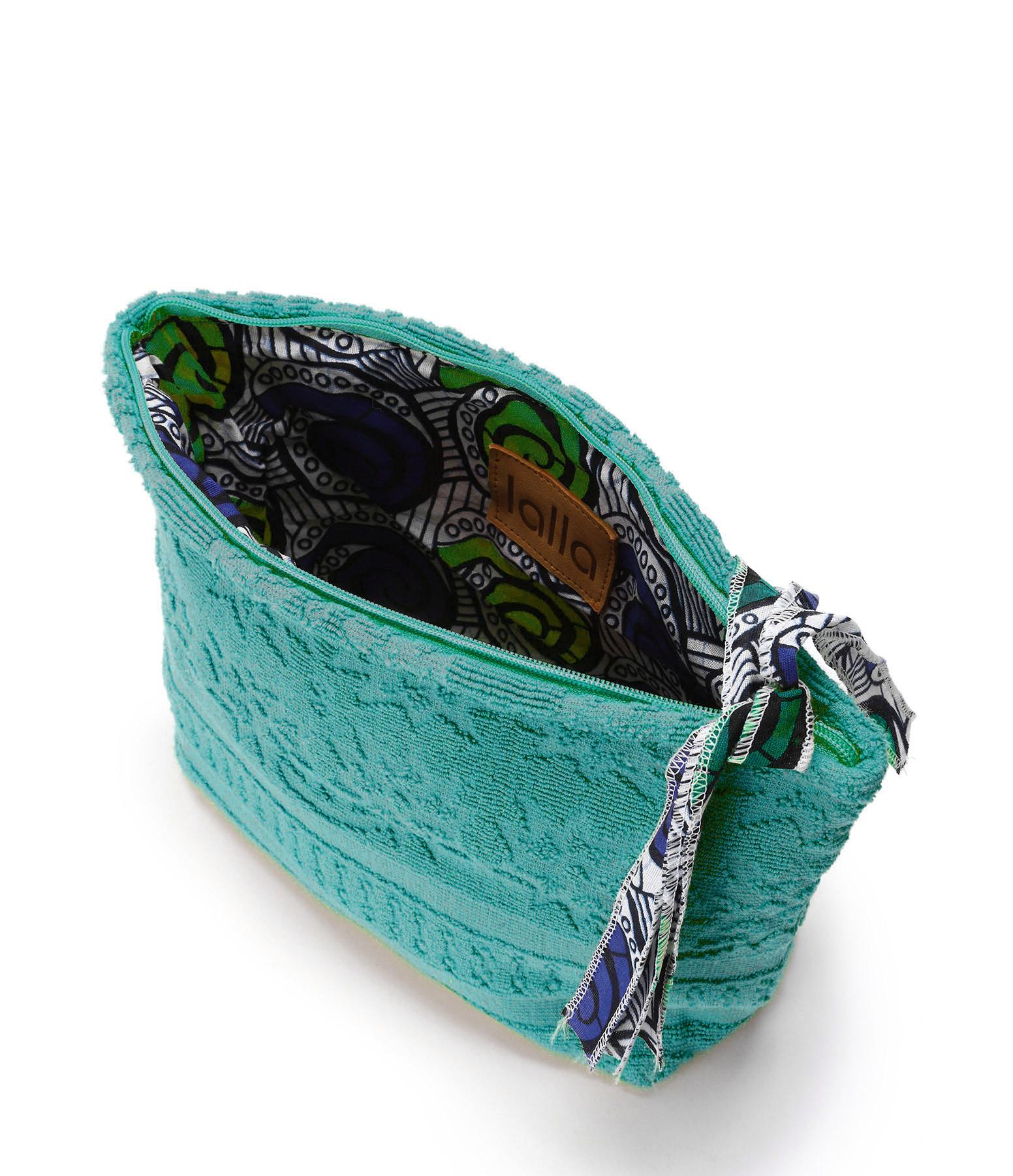LALLA - Trousse XL Walakin Éponge Jade