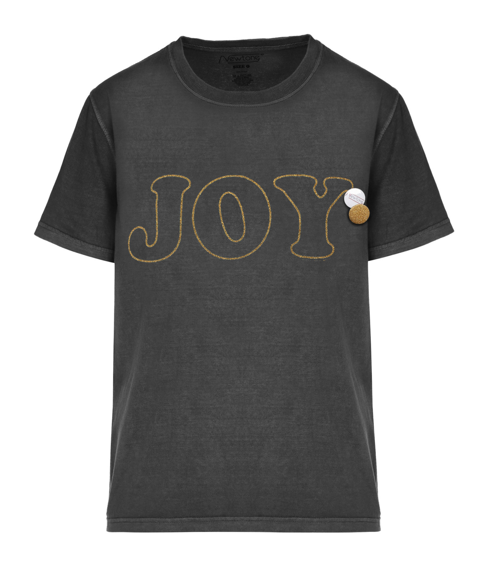 NEWTONE - Tee-shirt Joy Coton Pepper Glitter