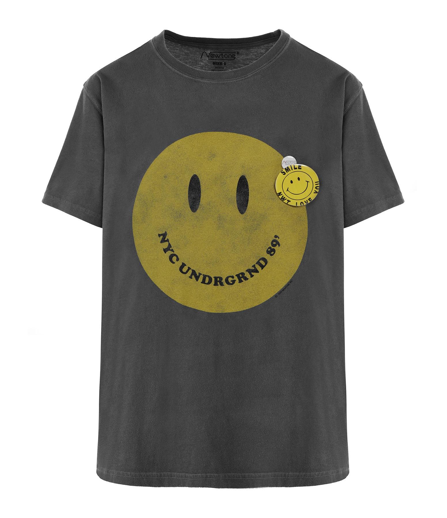 NEWTONE - Tee-shirt Smliey Coton Pepper