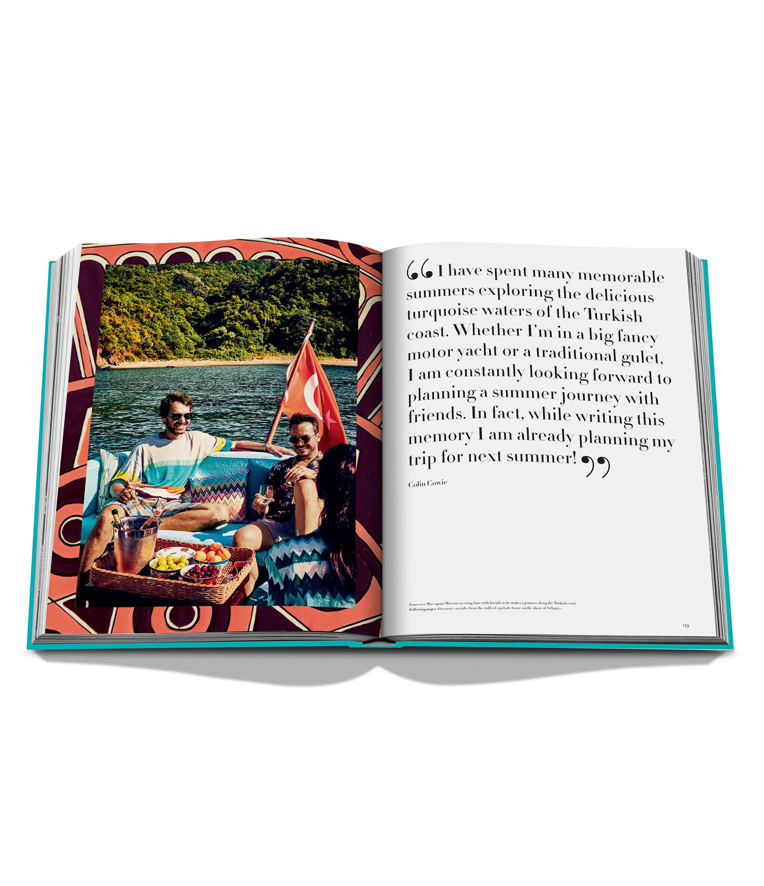 ASSOULINE - Livre Turquoise Coast