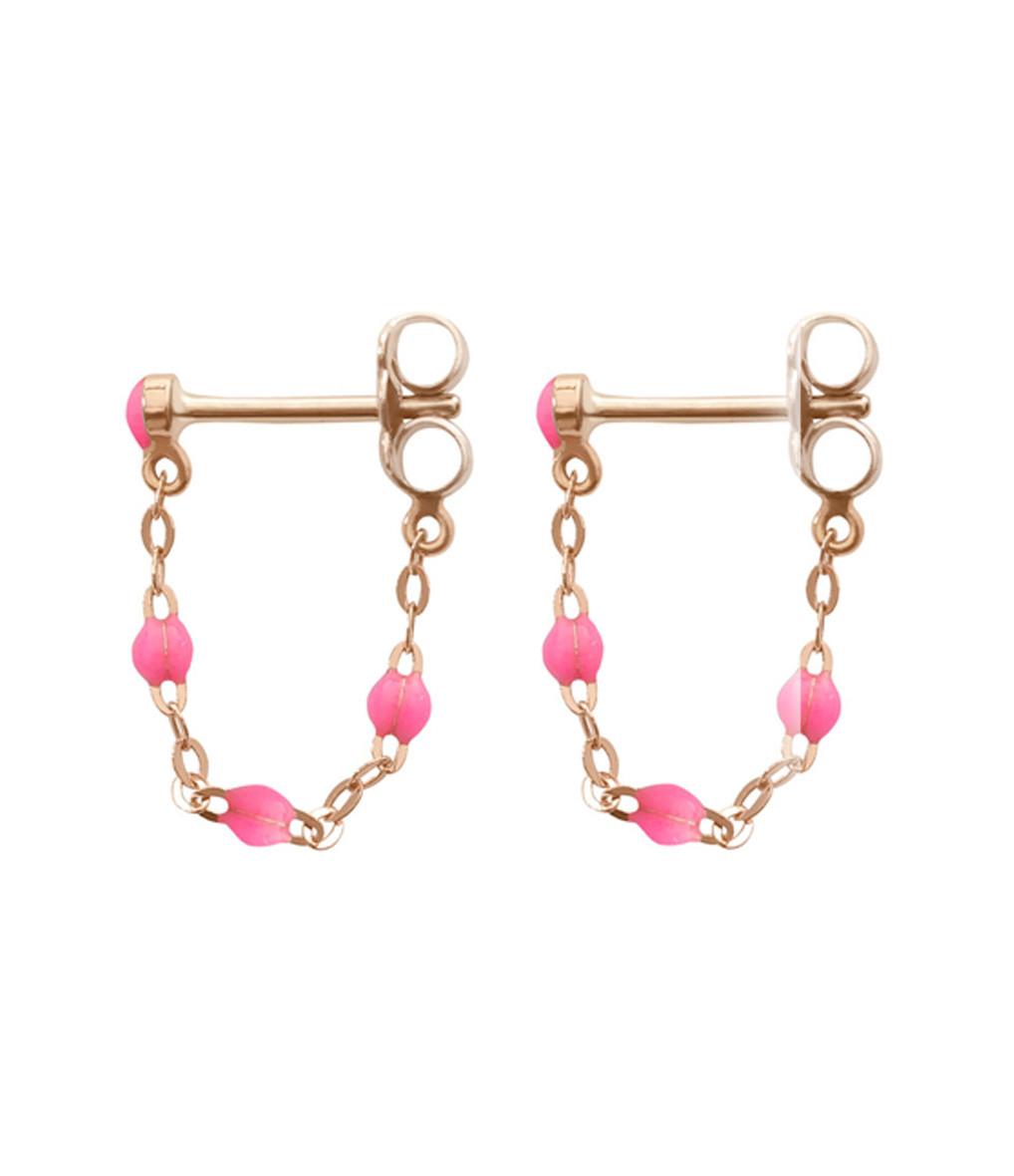 Boucles d'oreilles Perles Résine - Gigi Clozeau