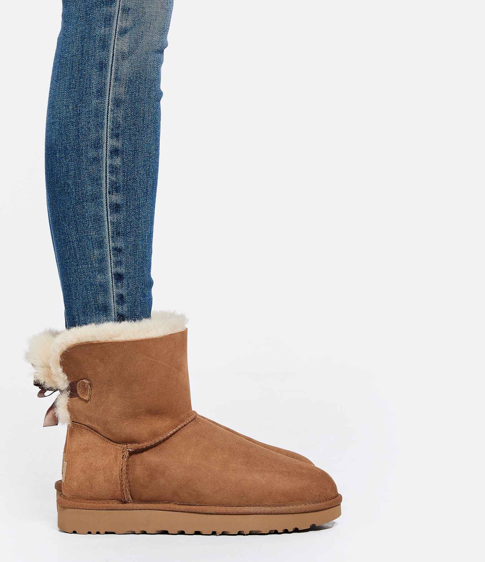 UGG - Boots Mini Bailey Bow II Chesnut