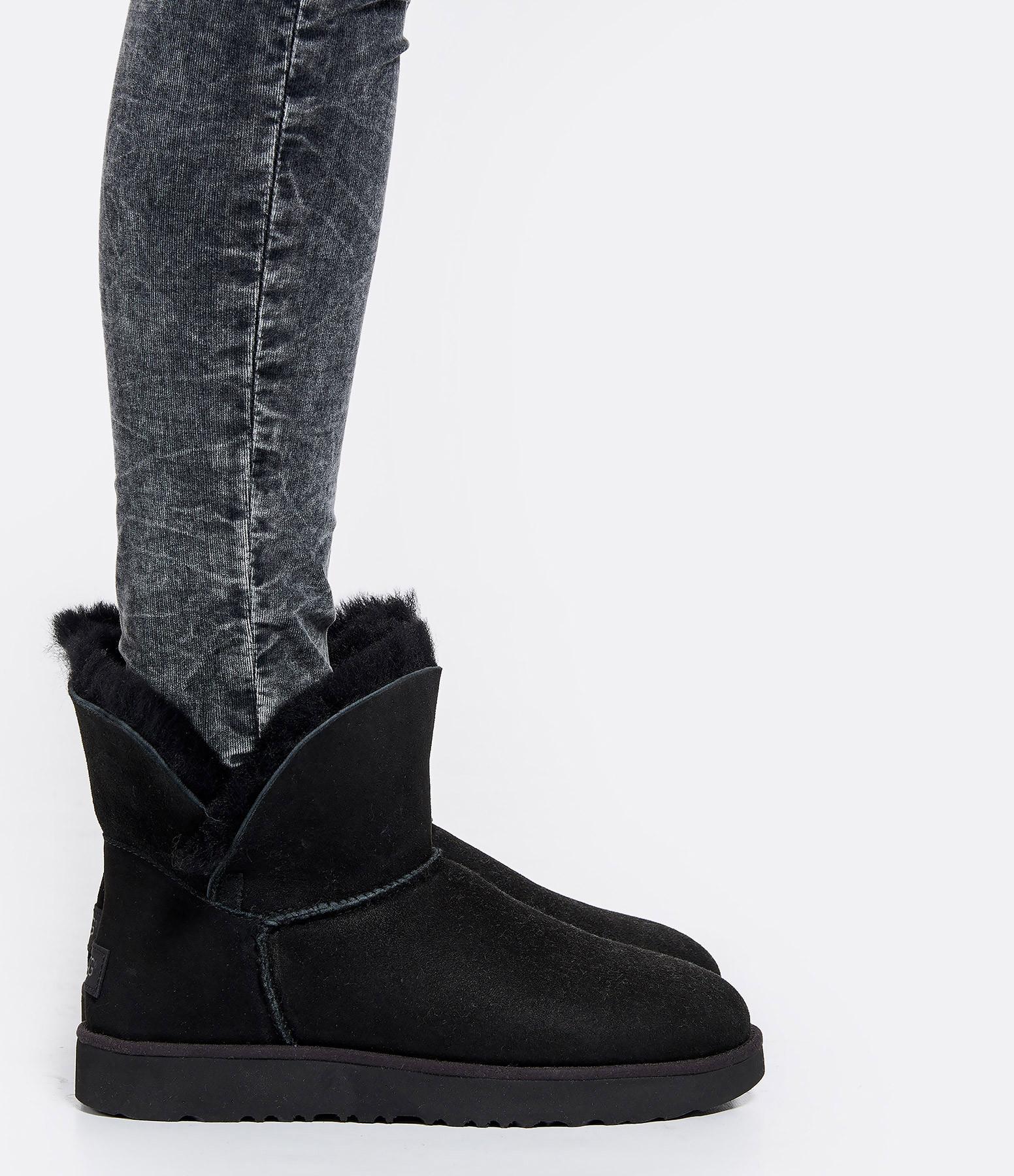 UGG - Boots Classic Cuff Mini Noir