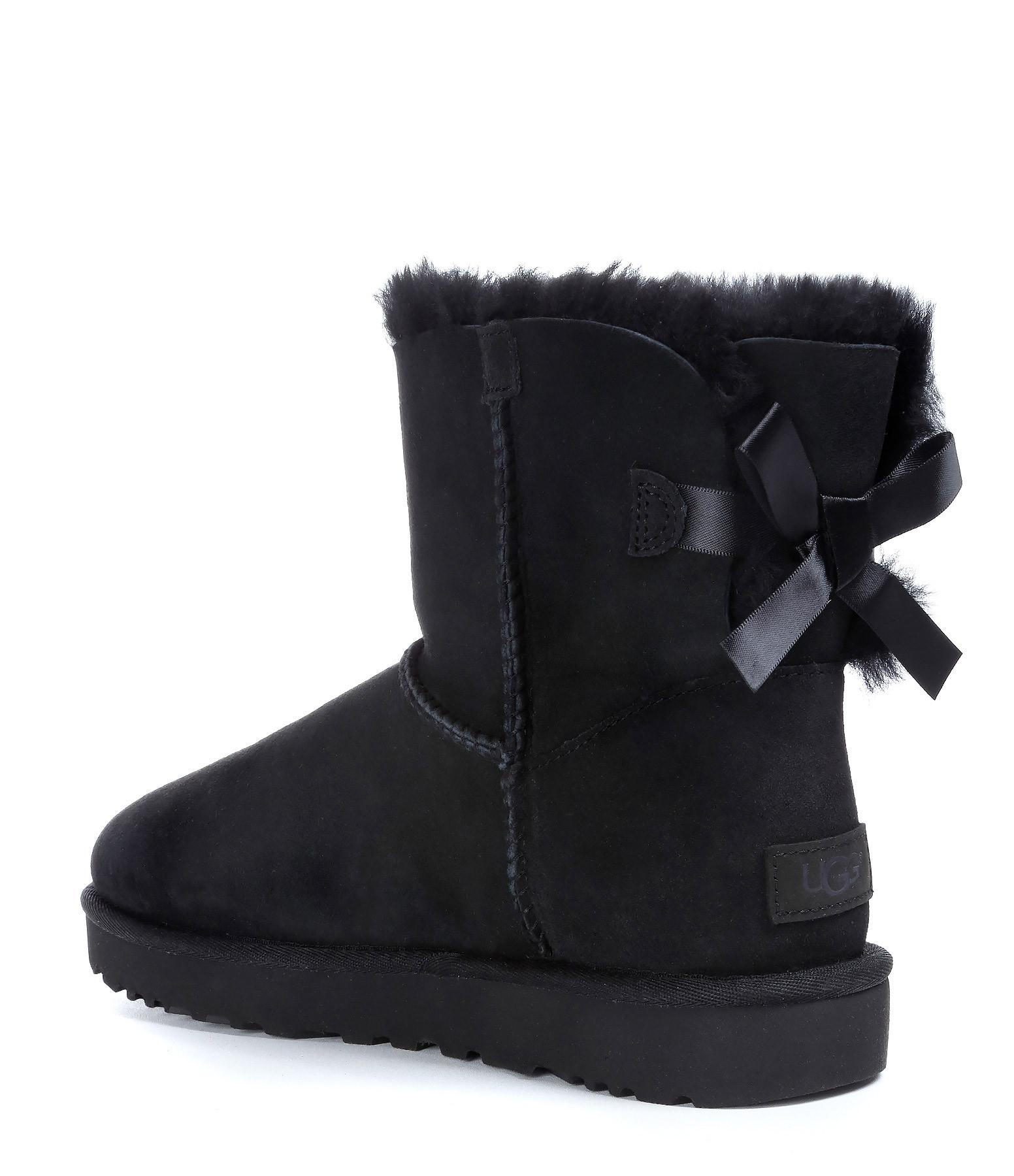 UGG - Boots Mini Bailey Bow II Noir