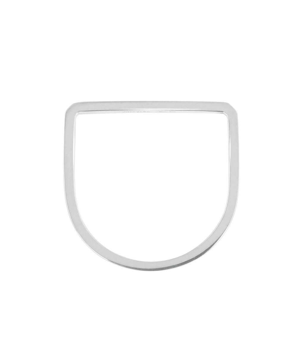 VANRYCKE - Bague Medellin Carré Or Blanc Diamants