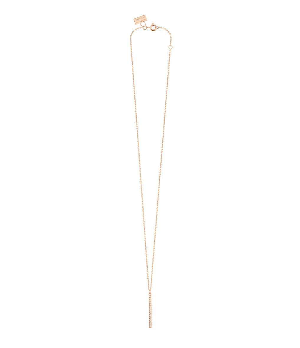 VANRYCKE - Collier Medellin Or Rose Diamants