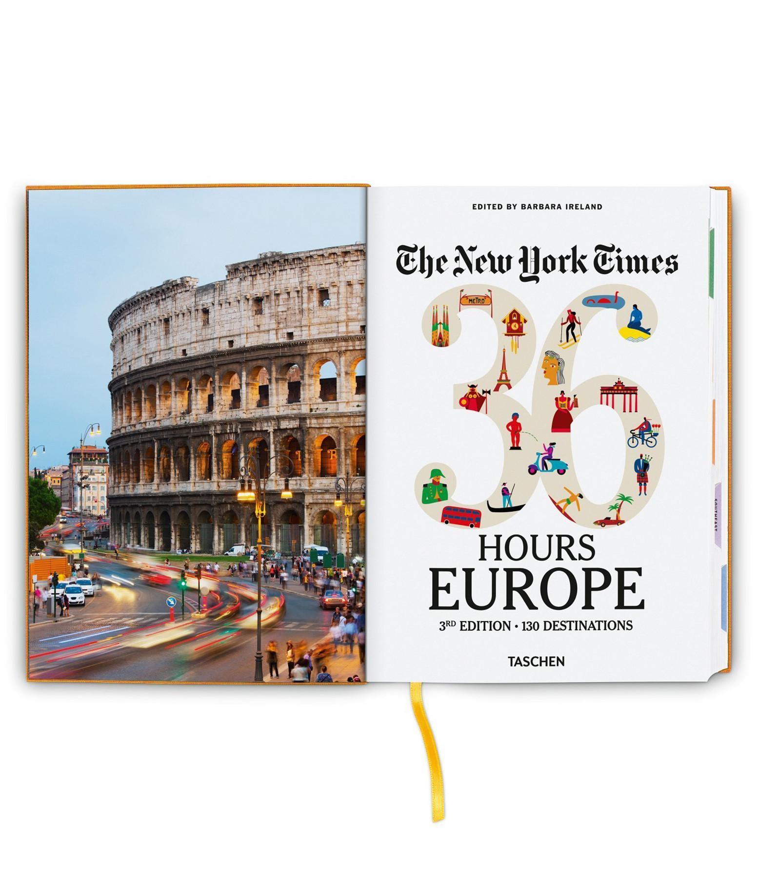 TASCHEN - Livre NYT 36 Hours Europe, 3ème édition