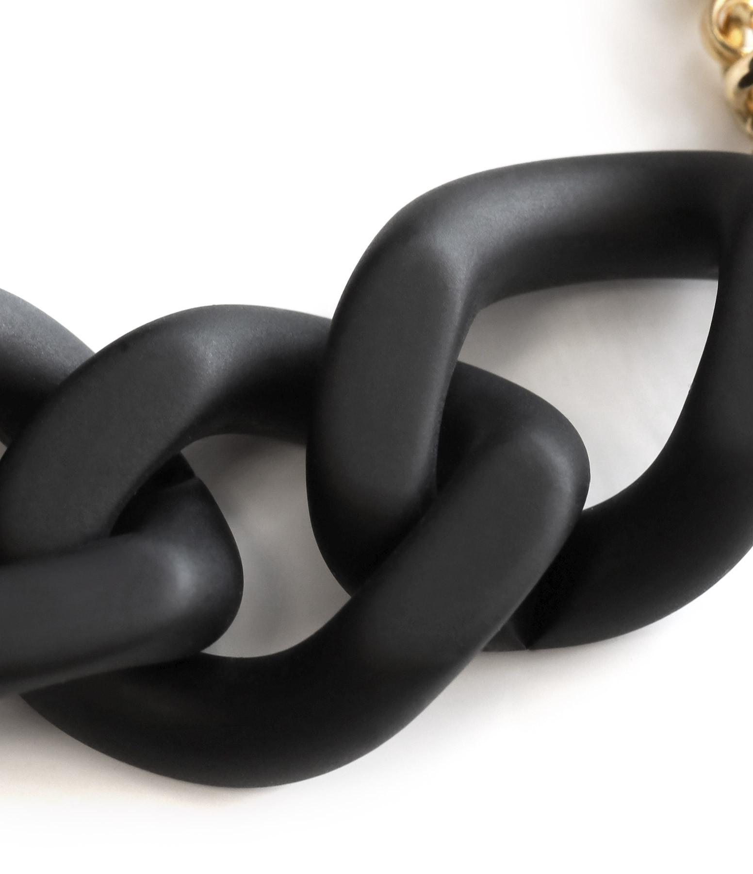 VANESSA BARONI - Bracelet Flat Black Matt