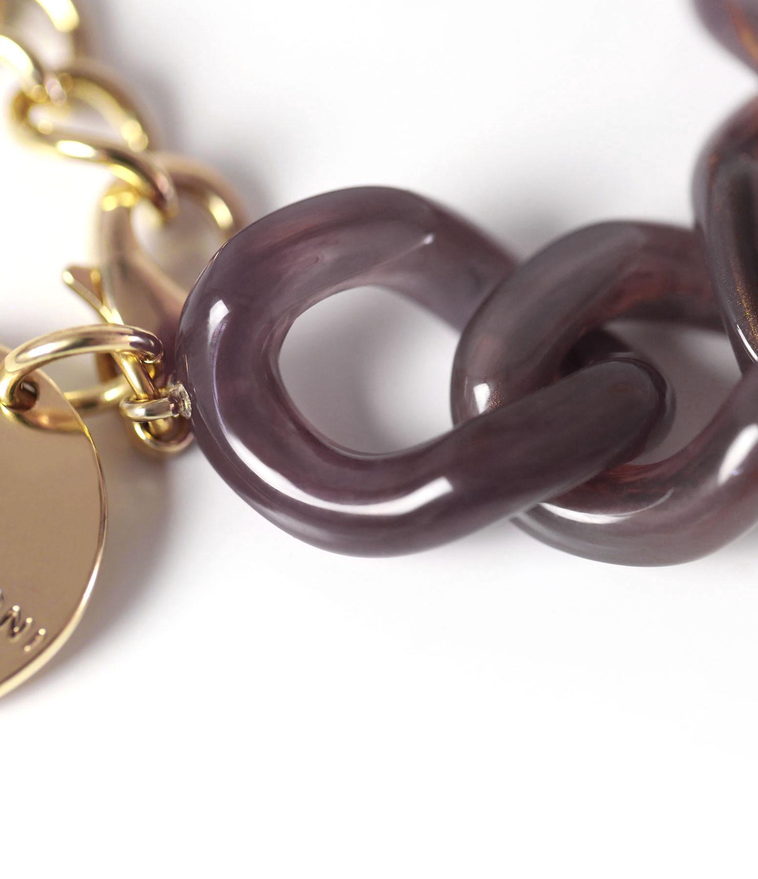 VANESSA BARONI - Bracelet Flat Brown Multicolor