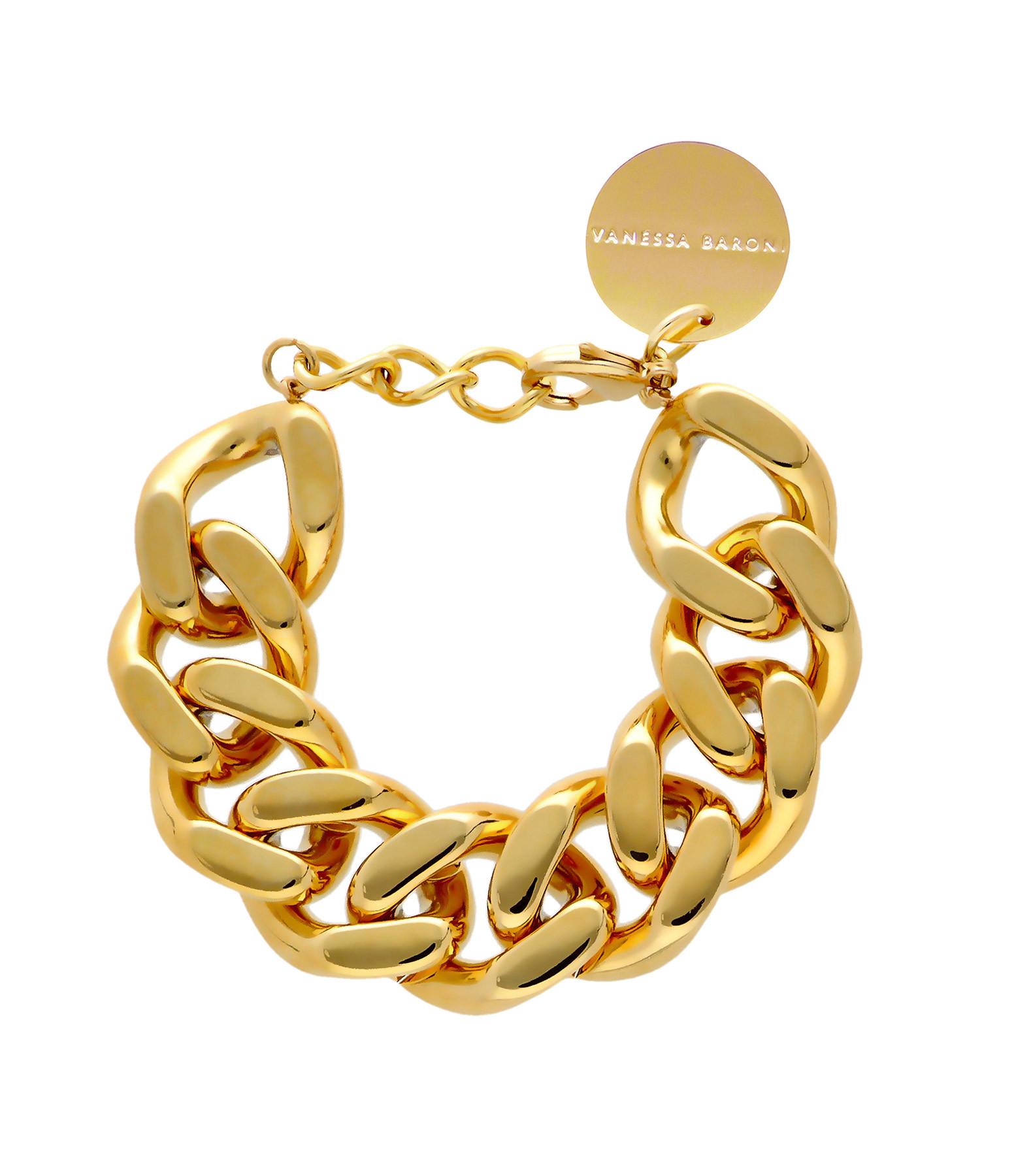 VANESSA BARONI - Bracelet Flat Gold