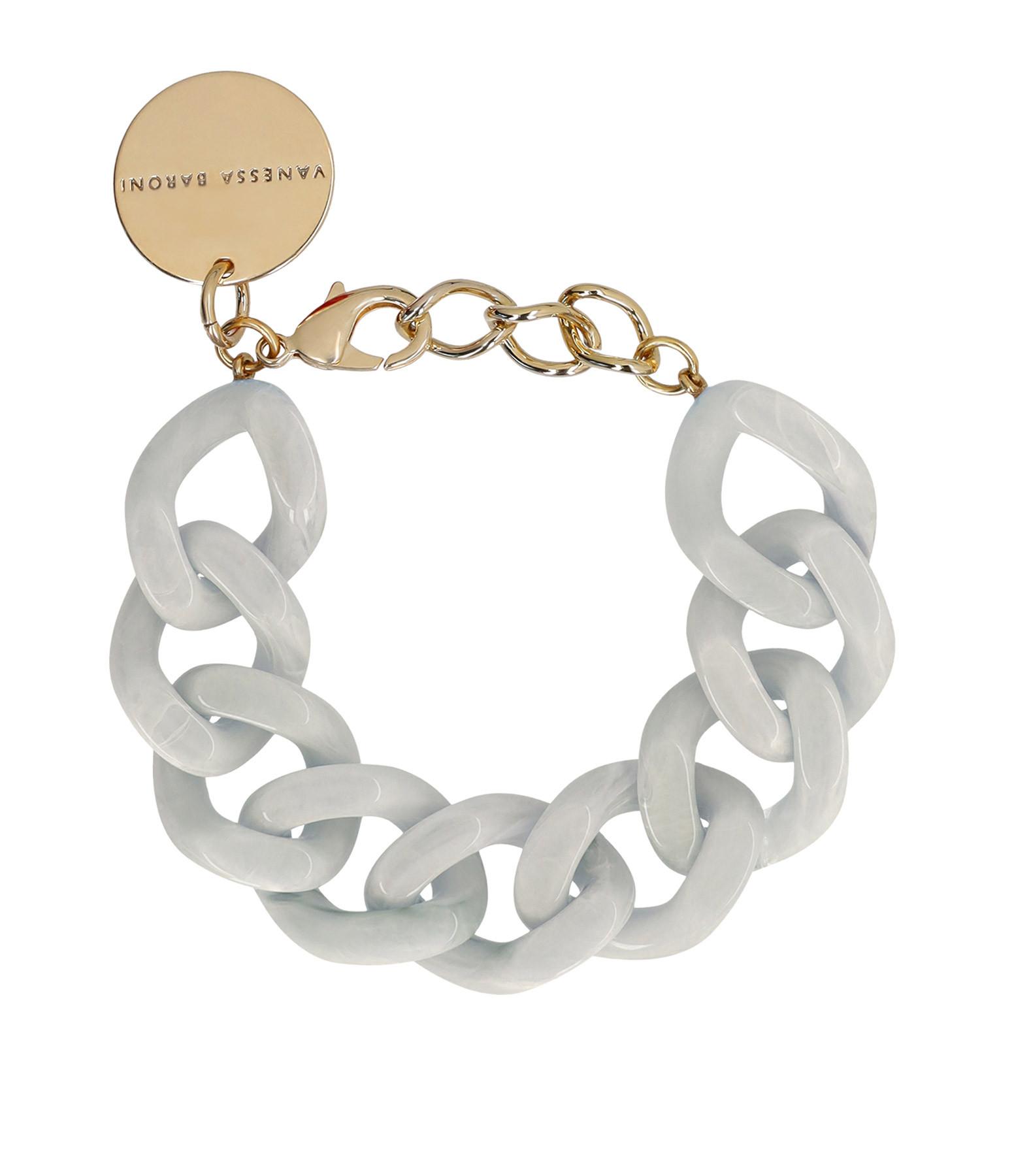 VANESSA BARONI - Bracelet Flat Light Grey