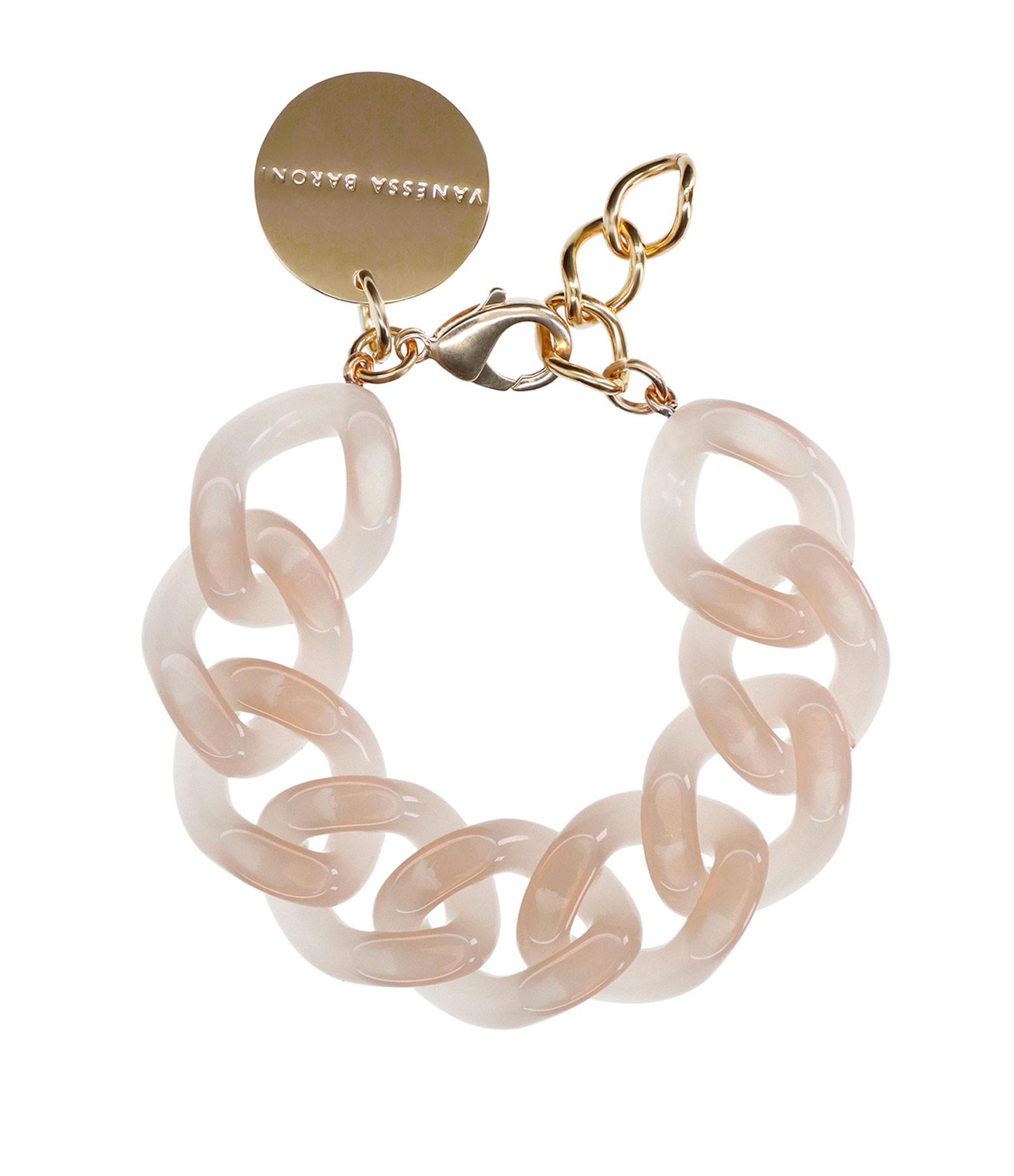 VANESSA BARONI - Bracelet Flat Nude