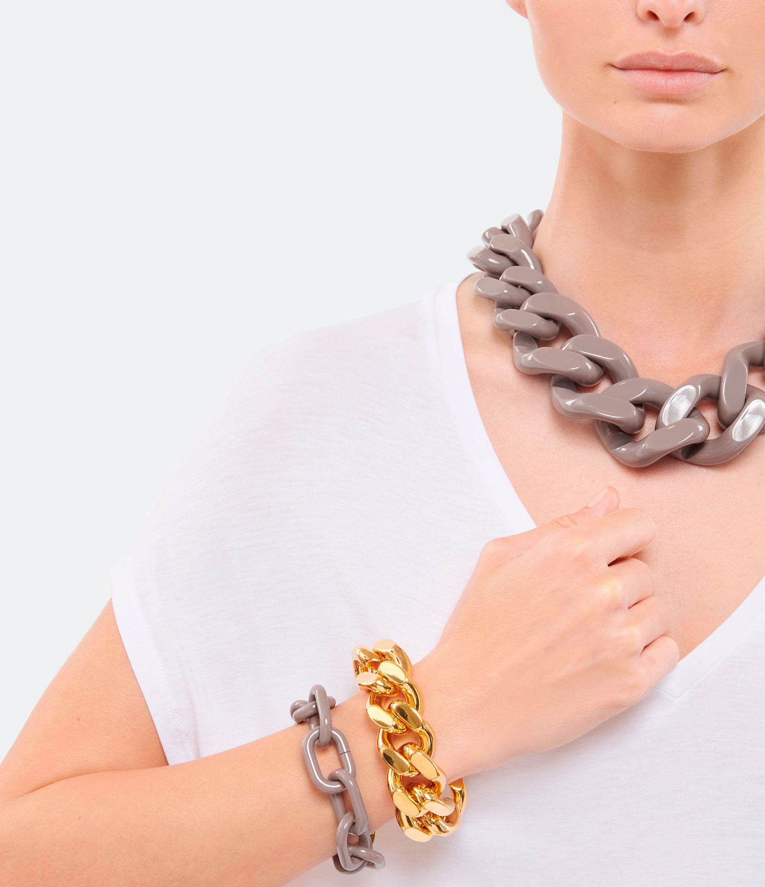 VANESSA BARONI - Bracelet Easy Dark Taupe