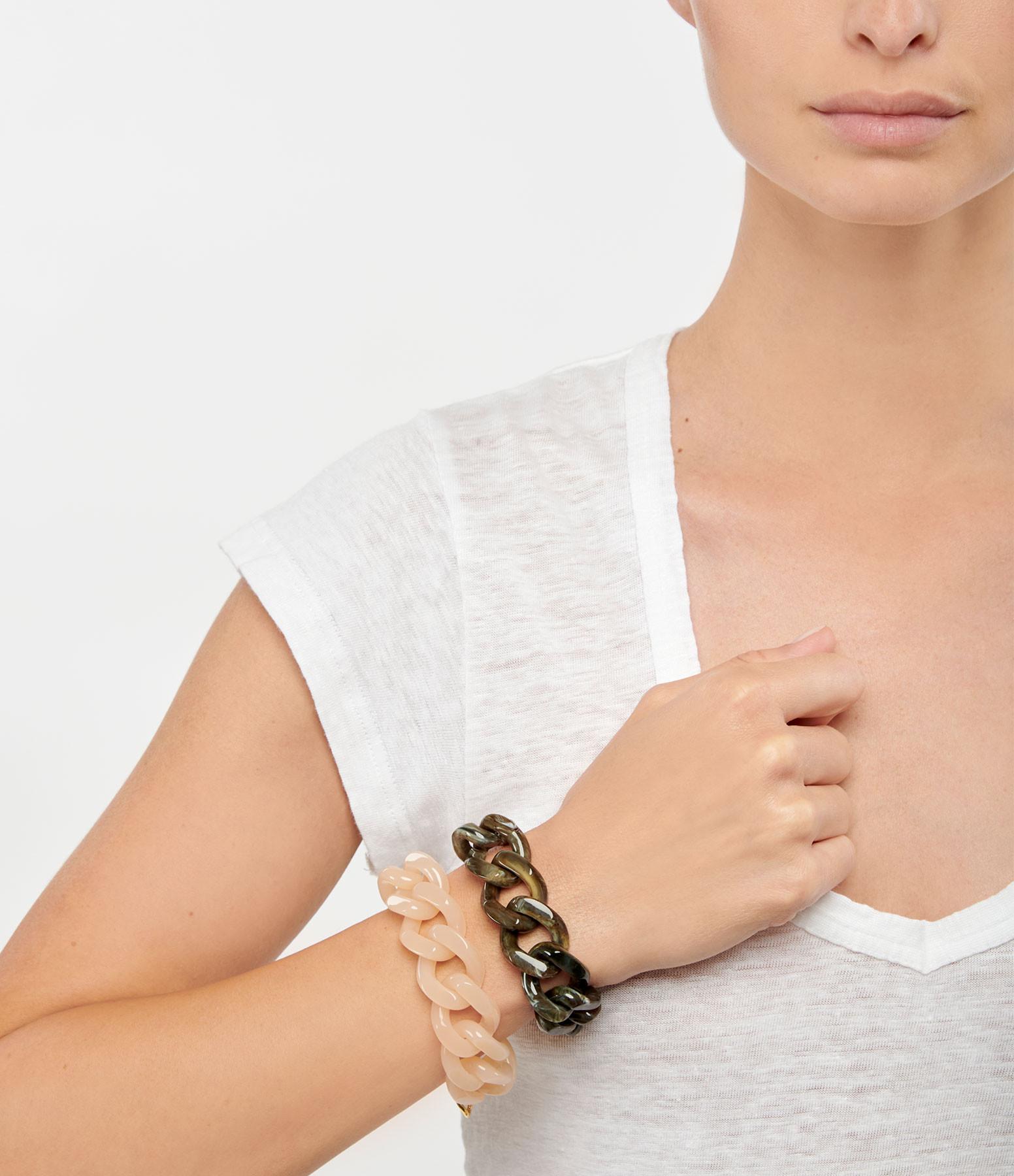 VANESSA BARONI - Bracelet Flat Mud Marble