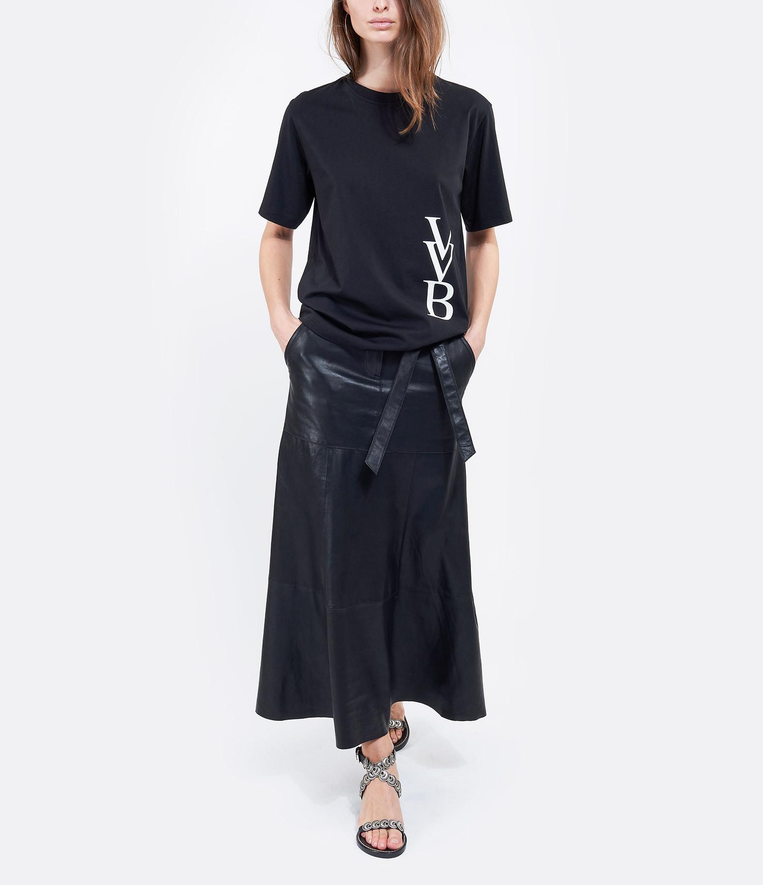 VICTORIA VICTORIA BECKHAM - Tee-shirt VVB Coton Noir