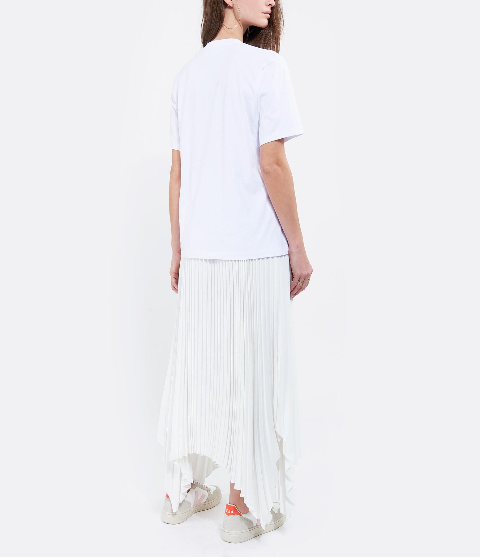 VICTORIA VICTORIA BECKHAM - Tee-shirt I Heart Weekend Coton Blanc