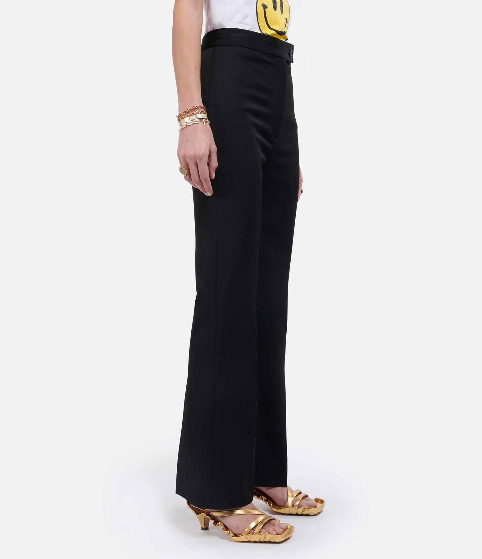 VICTORIA VICTORIA BECKHAM - Pantalon Taille Haute Noir